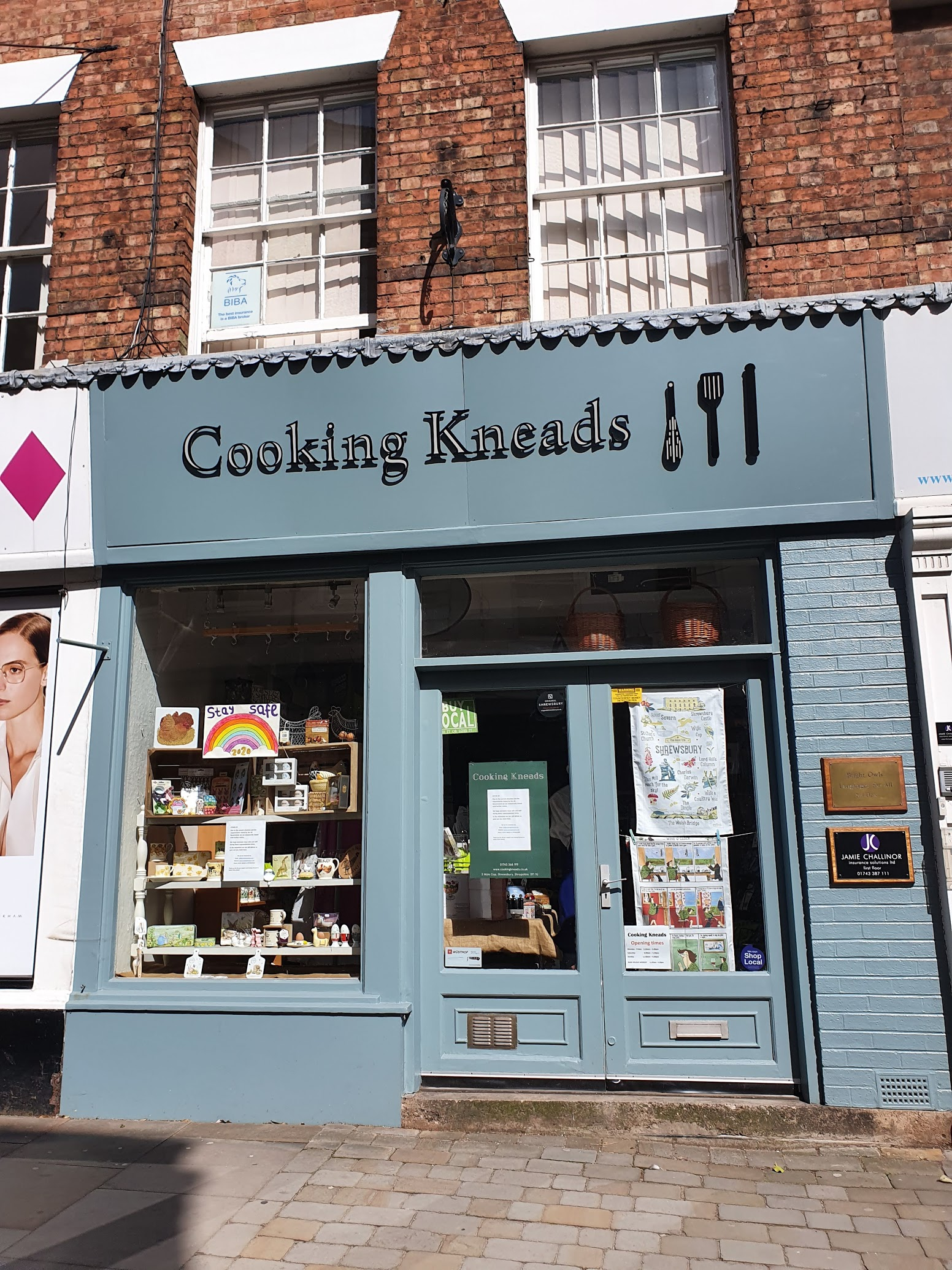 Cooking Kneads Shop Front