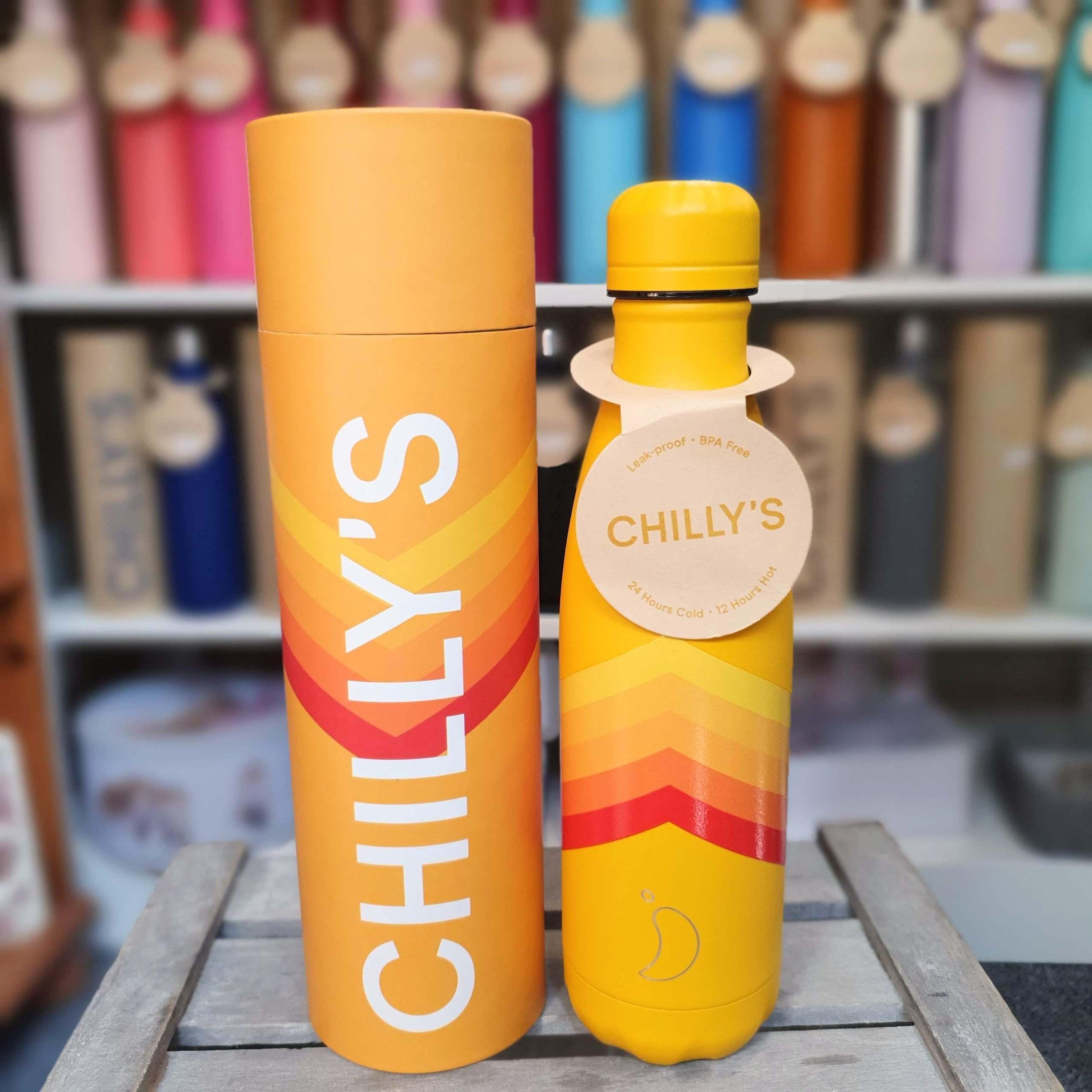 Retro Zig Zag Chilly's Bottle