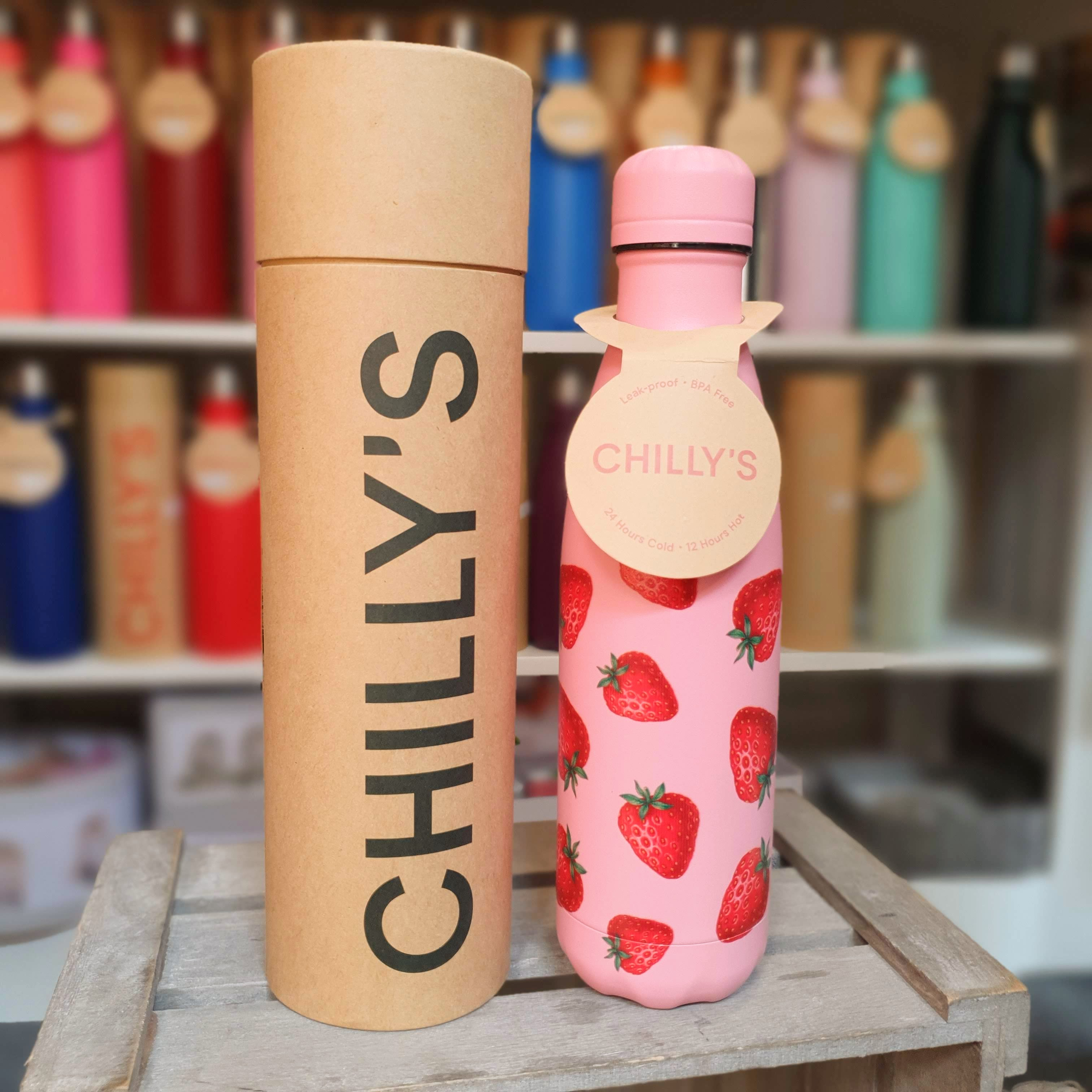 Strawberry Chilly's Bottle