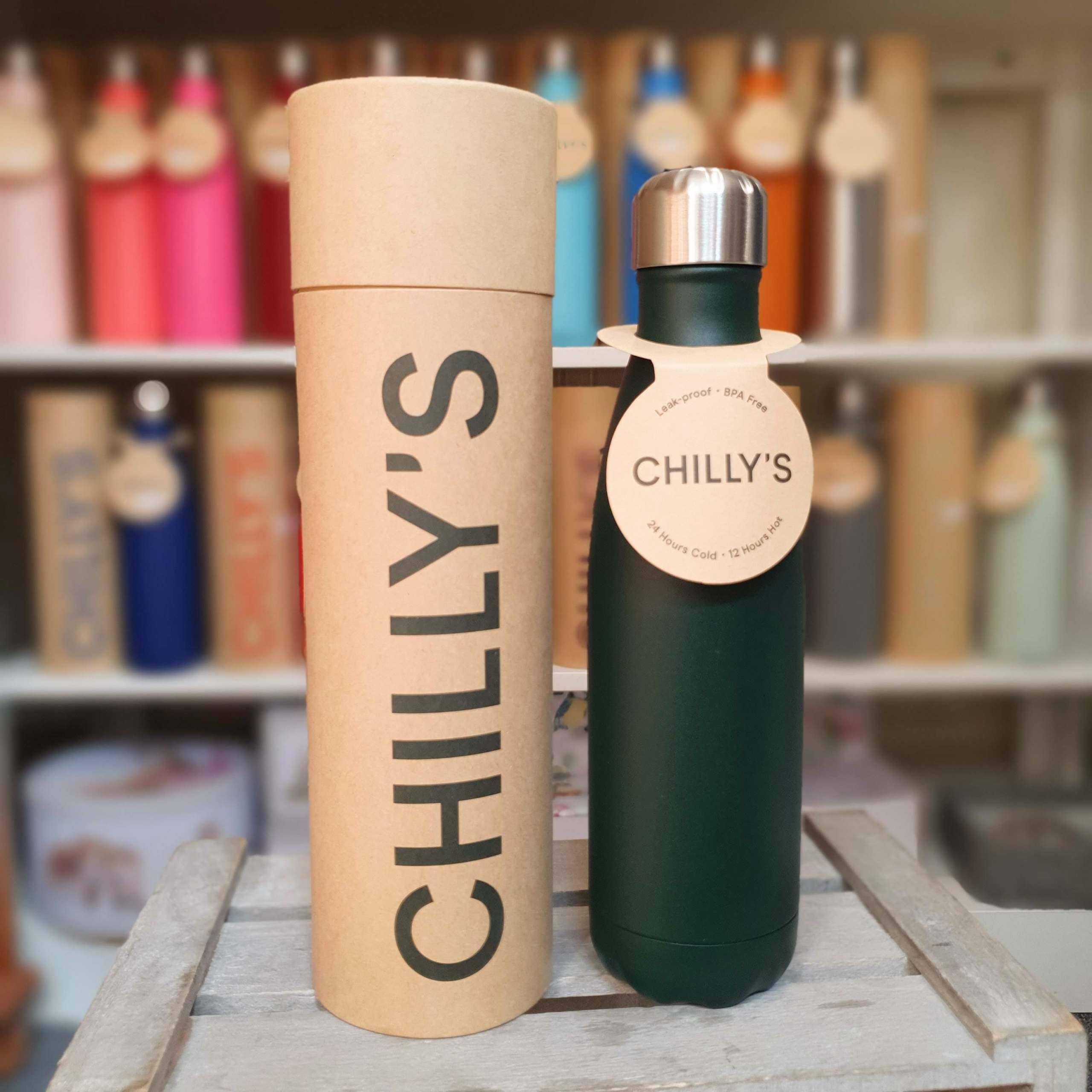 Dark Green Chilly's Bottle