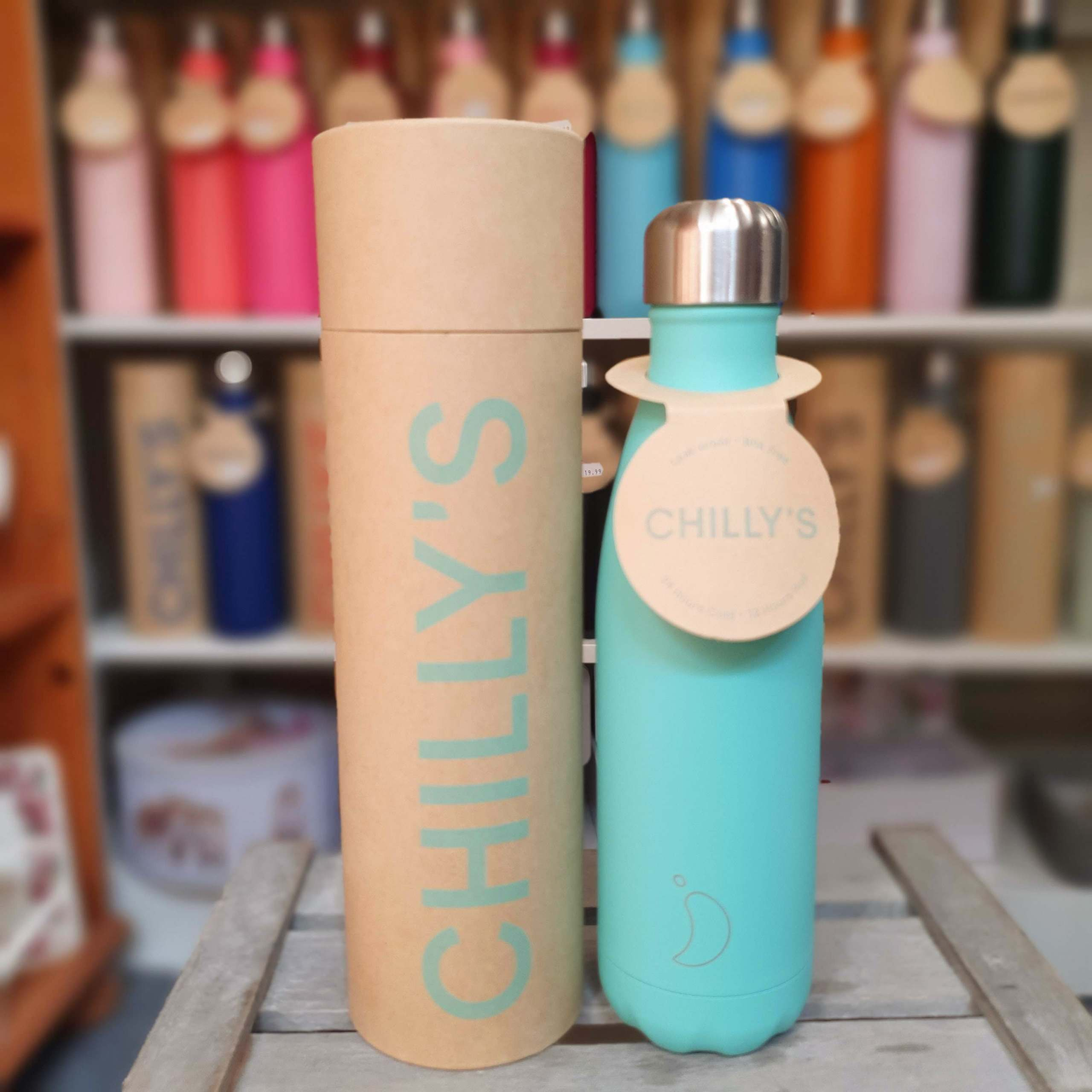 Pastel Green Chilly's Bottle