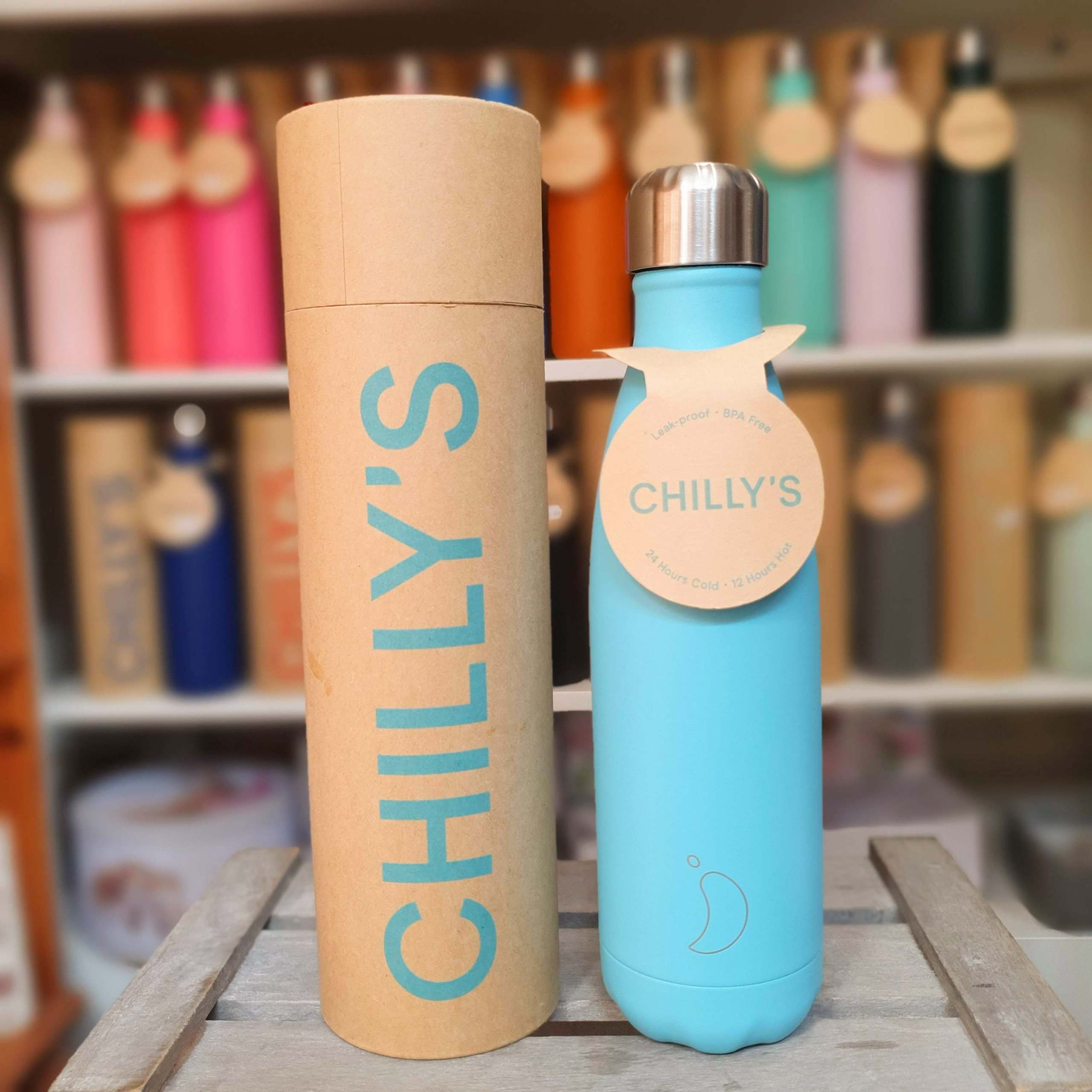Pastel Blue Chilly's Bottle