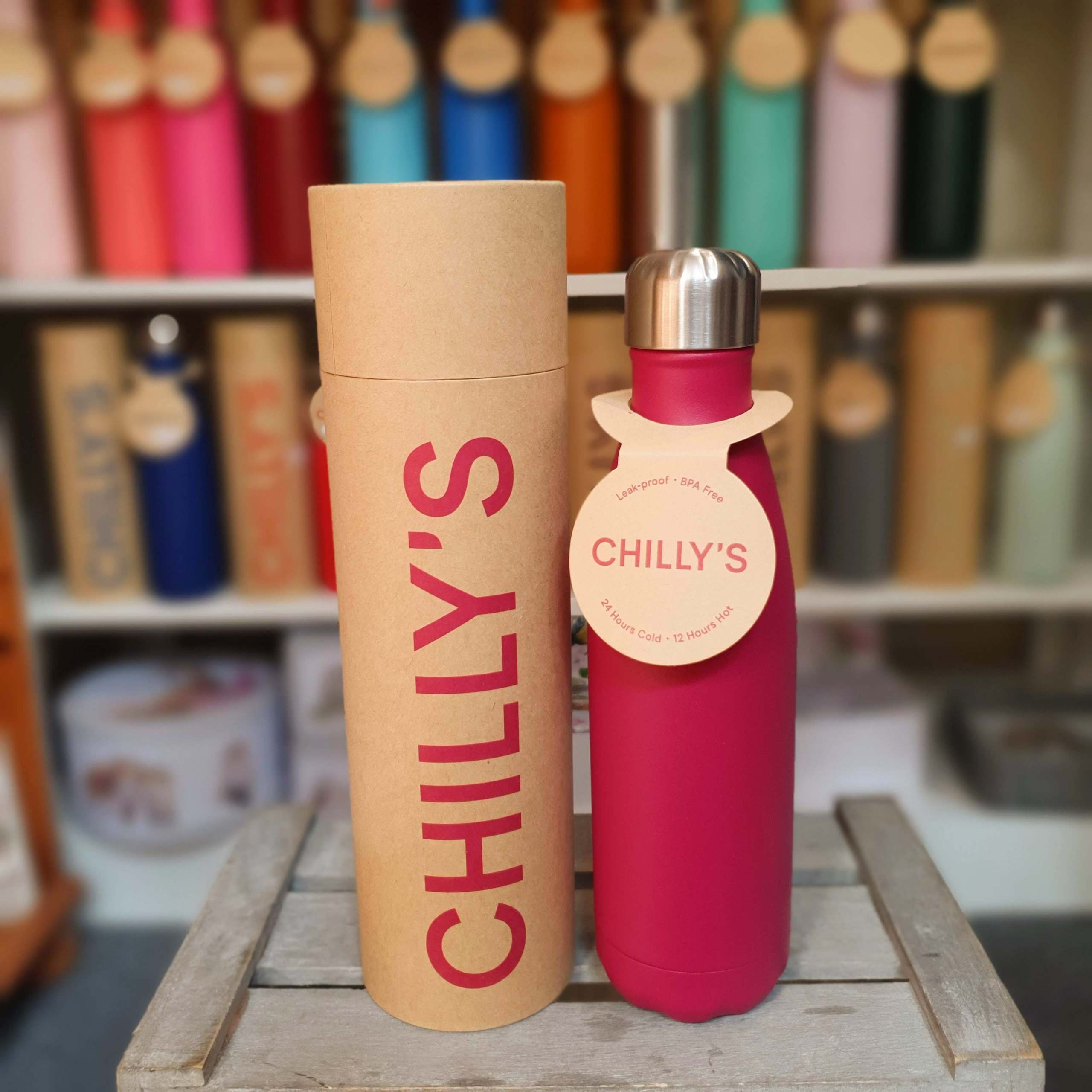 Matte Pink Chilly's Bottle