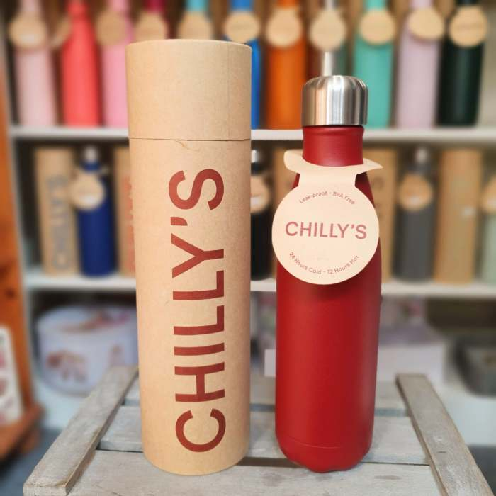 Matte Red Chilly's Bottle