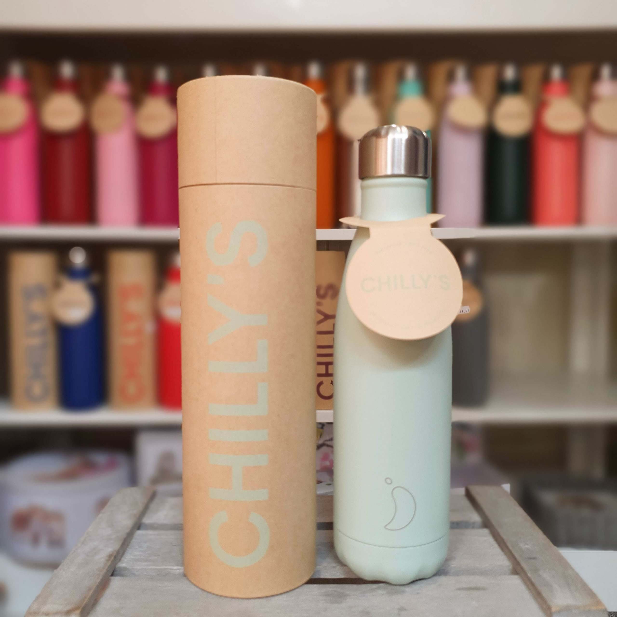 Blush Green Chilly's Bottle
