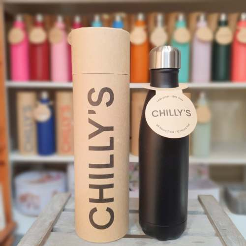 Large Black Chilly's Bottle