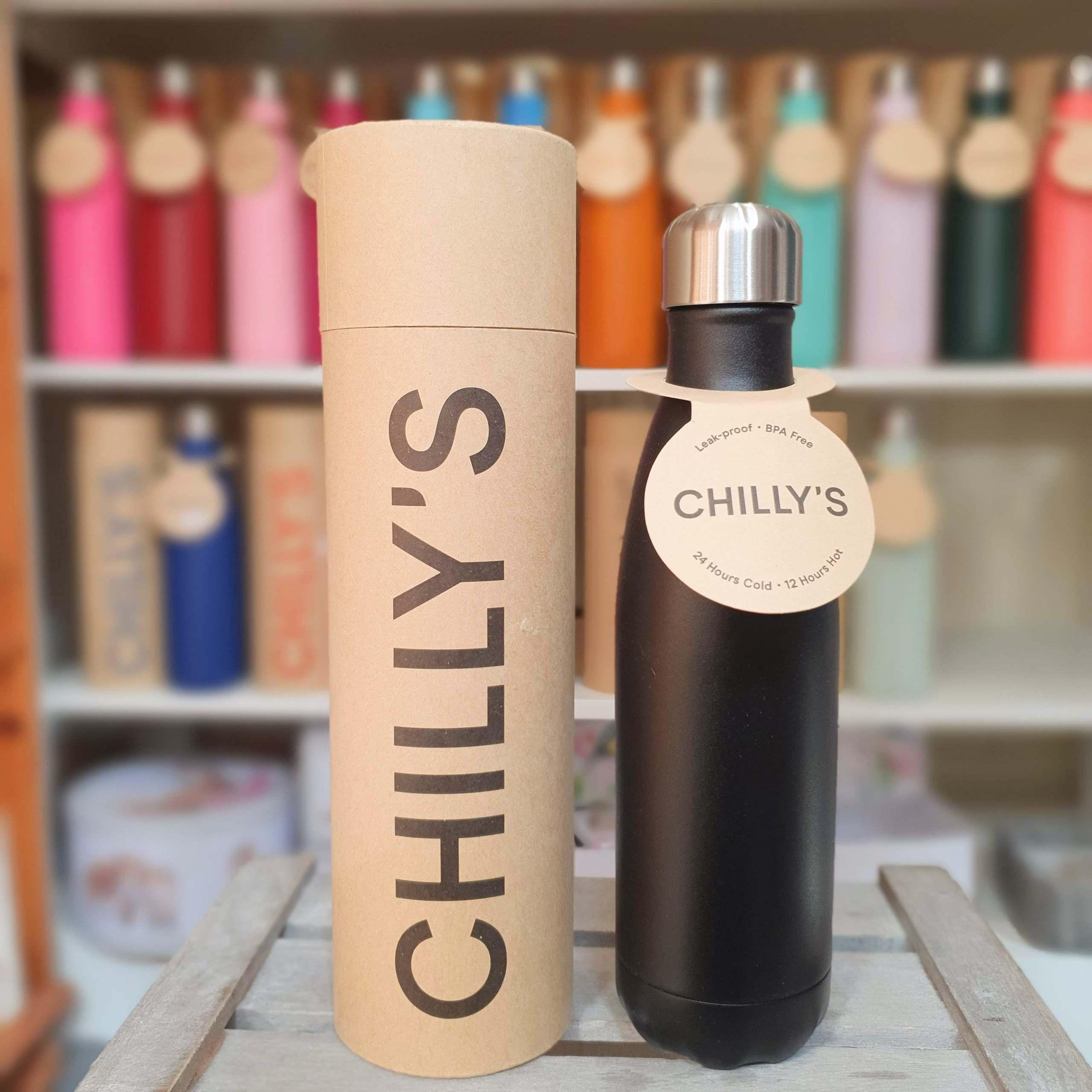 Large Black Chilly's Bottle