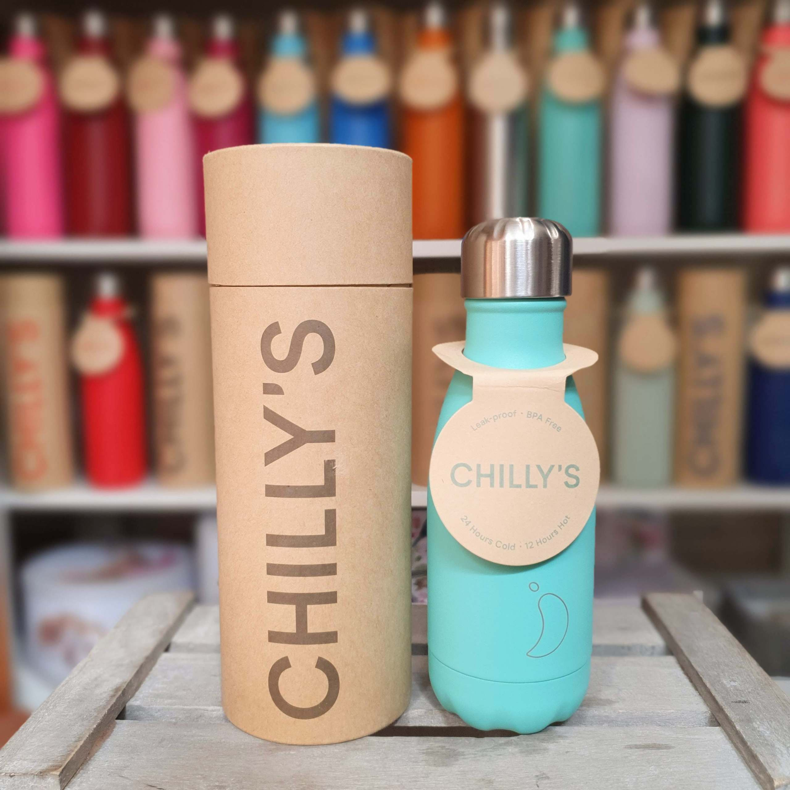 Small Pastel Green Chilly's Bottle