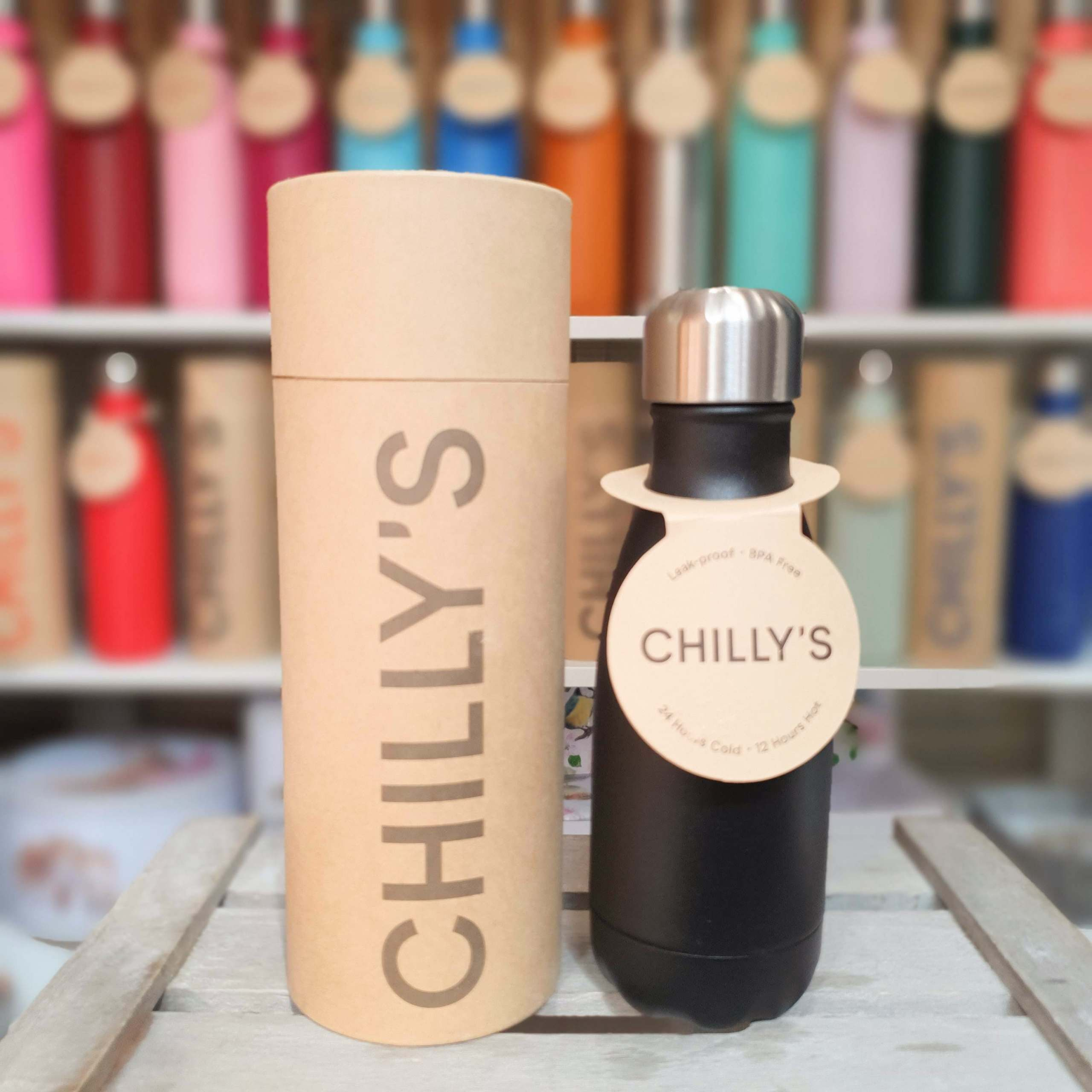 Small Black Chilly's Bottle
