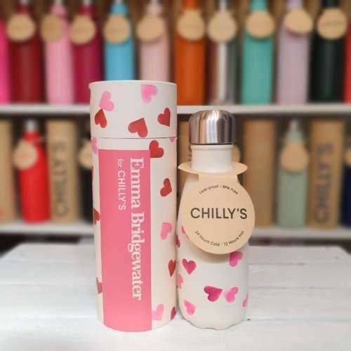 Small Hearts Emma Bridgeawater Chilly's Bottle