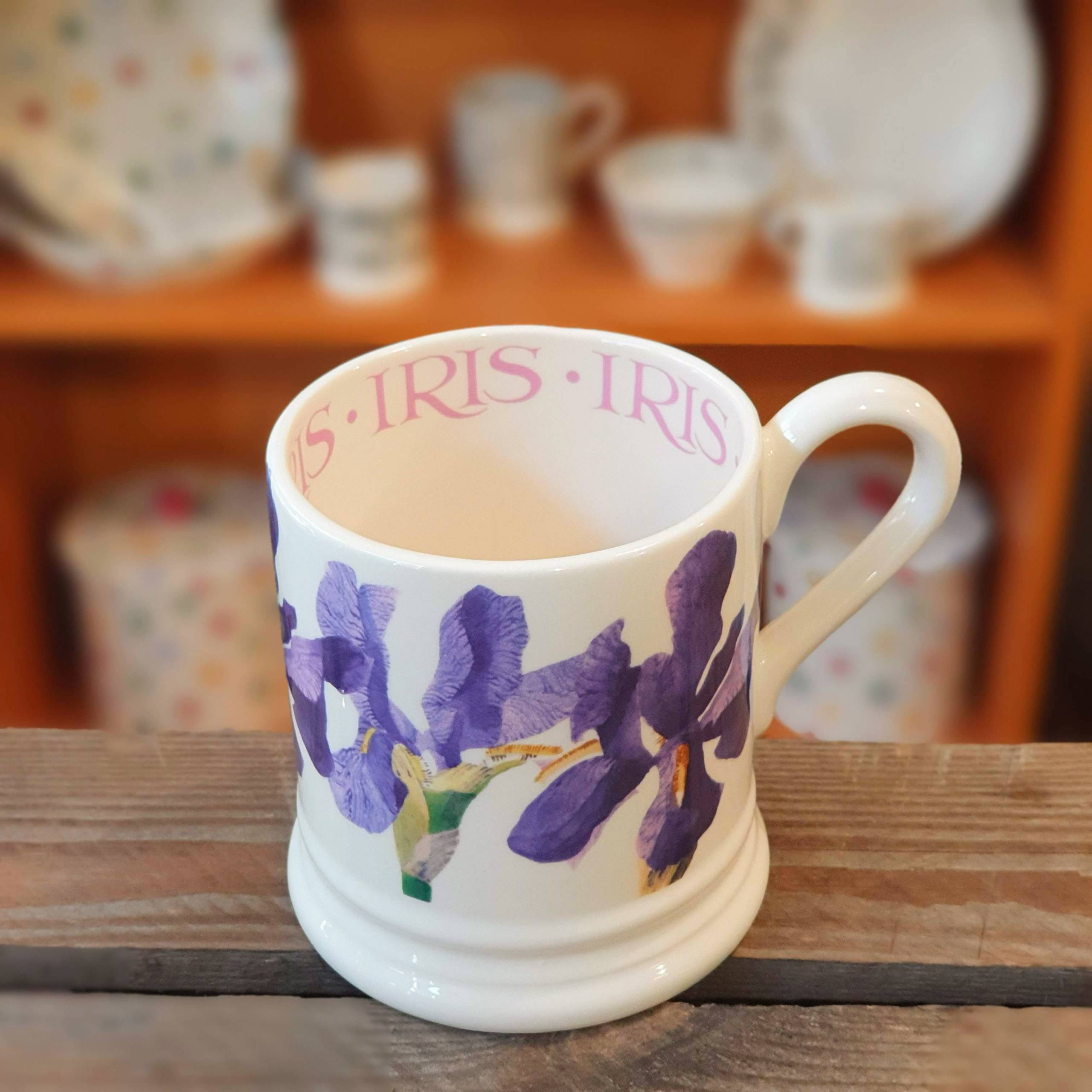 emma bridgewater iris mug