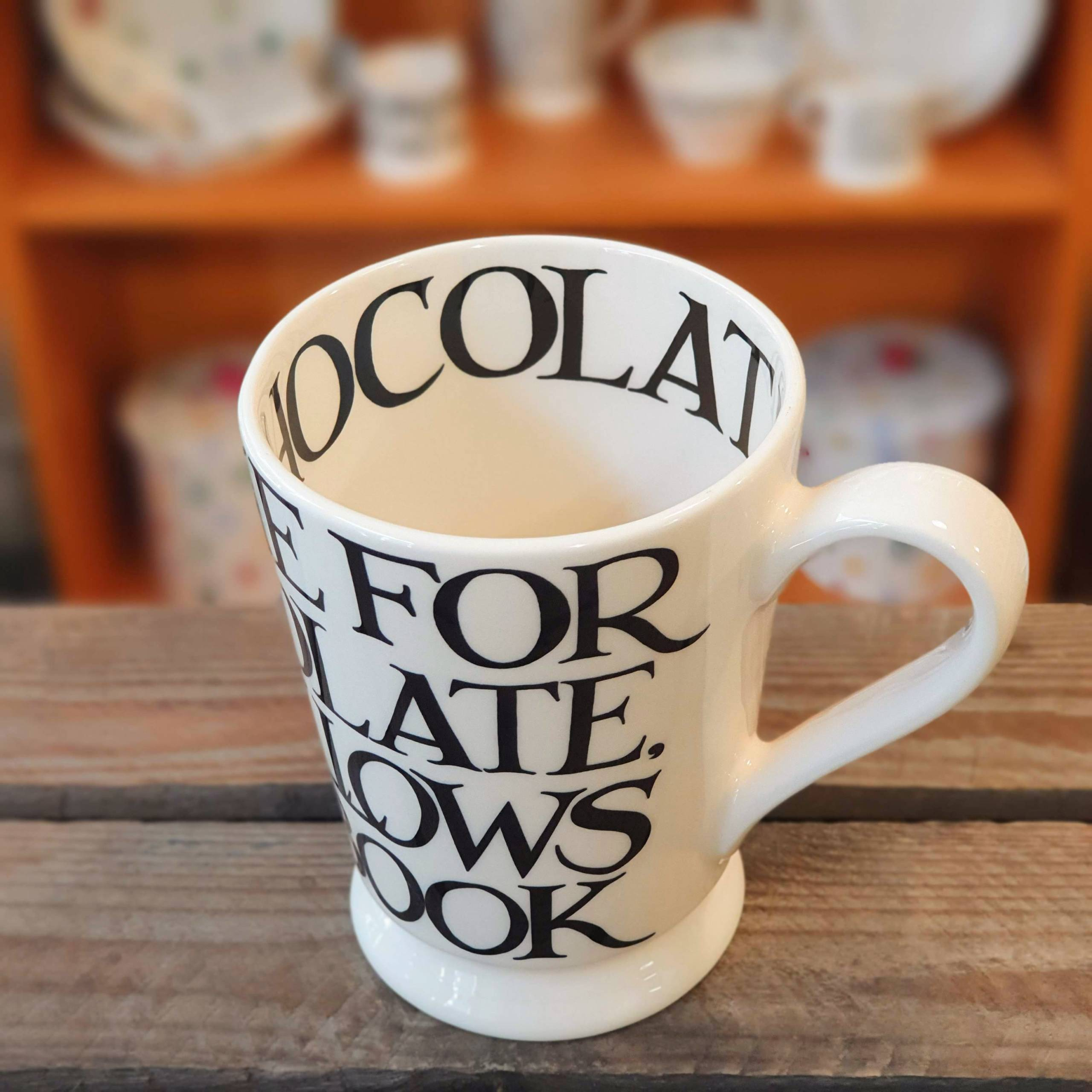 emma bridgewater chocolate mug