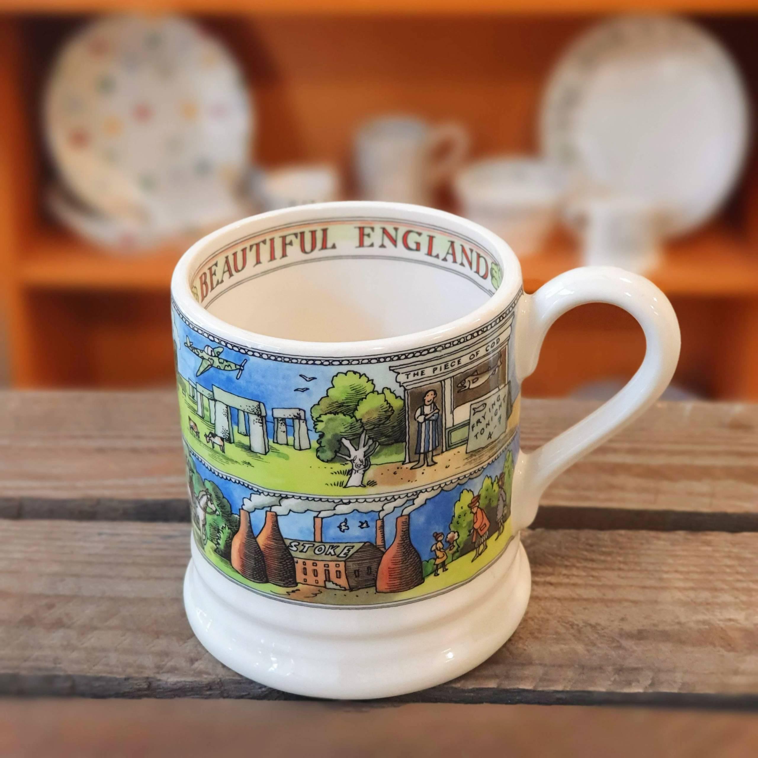emma bridgewater beautiful england mug