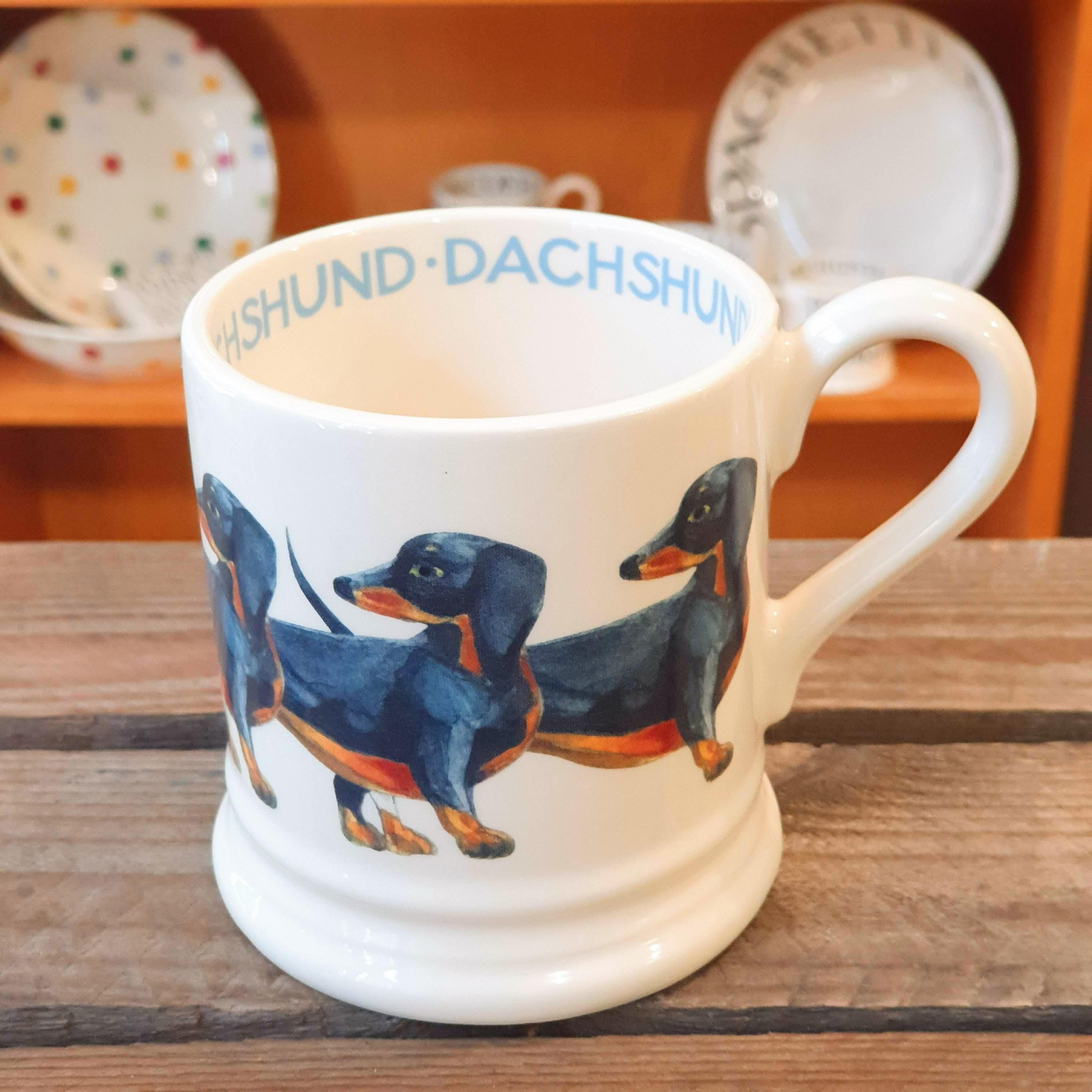 emma bridgewater dachshund mug