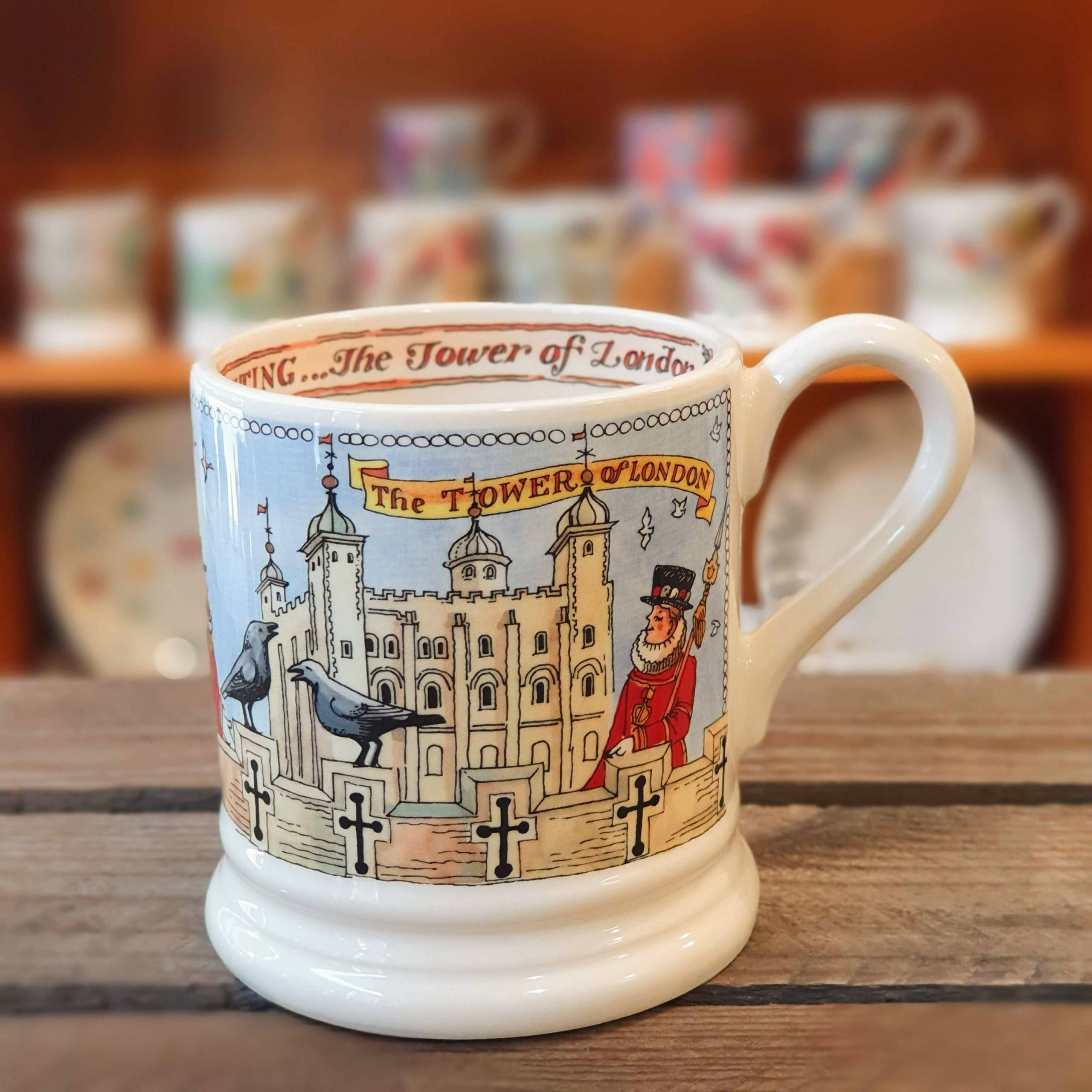 emma bridgewater london mug