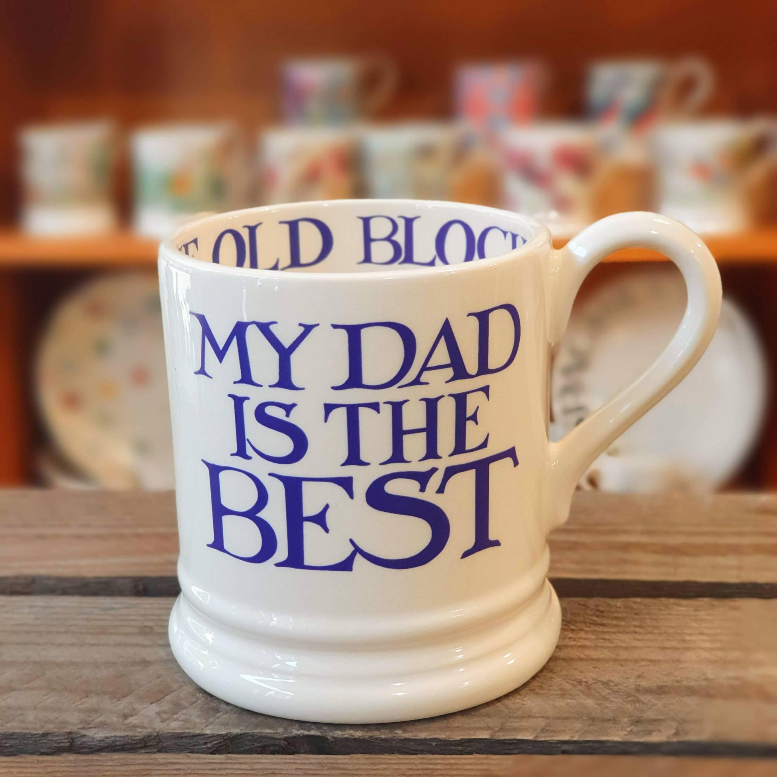 emma bridgewater dad is the best mug