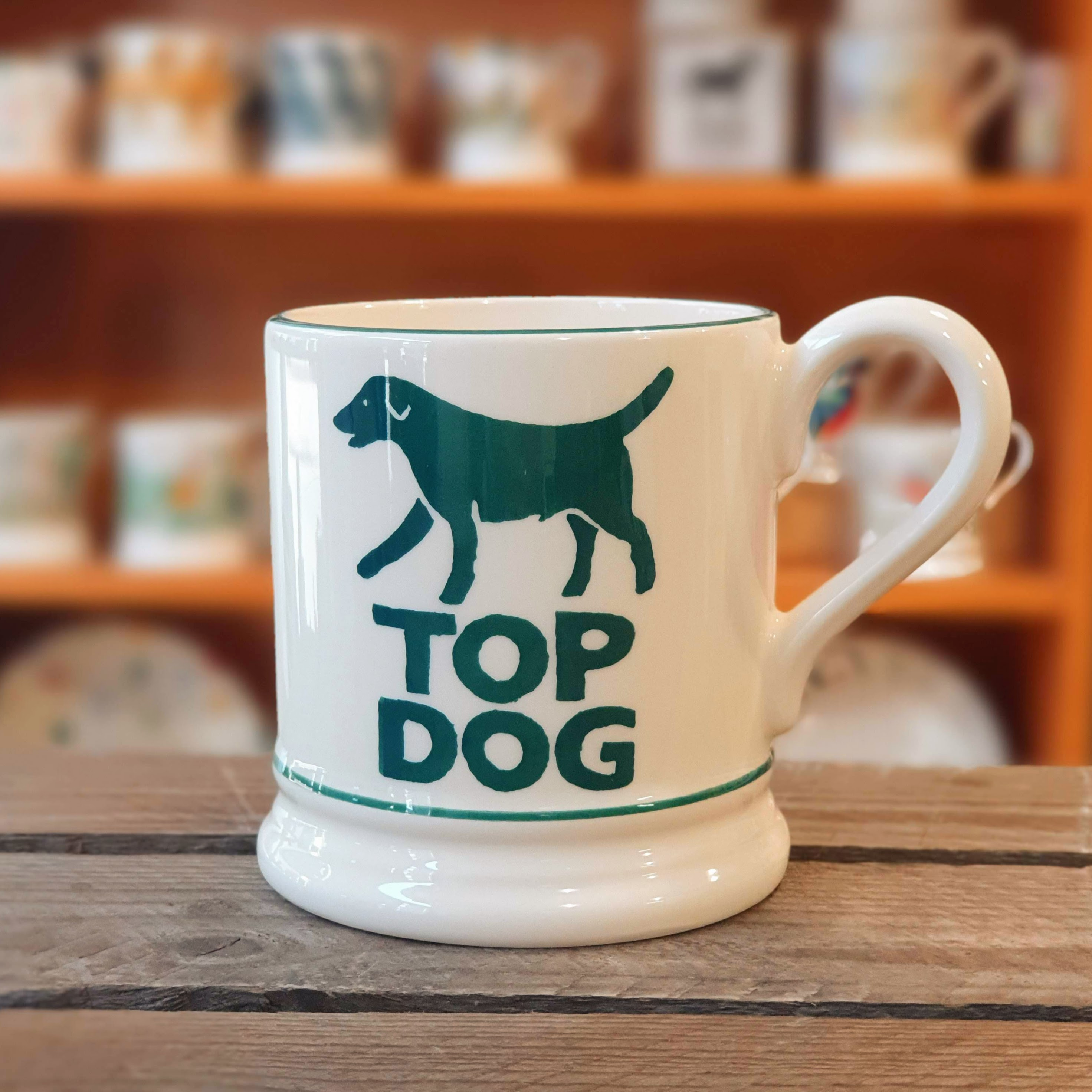 emma bridgewater top dog mug