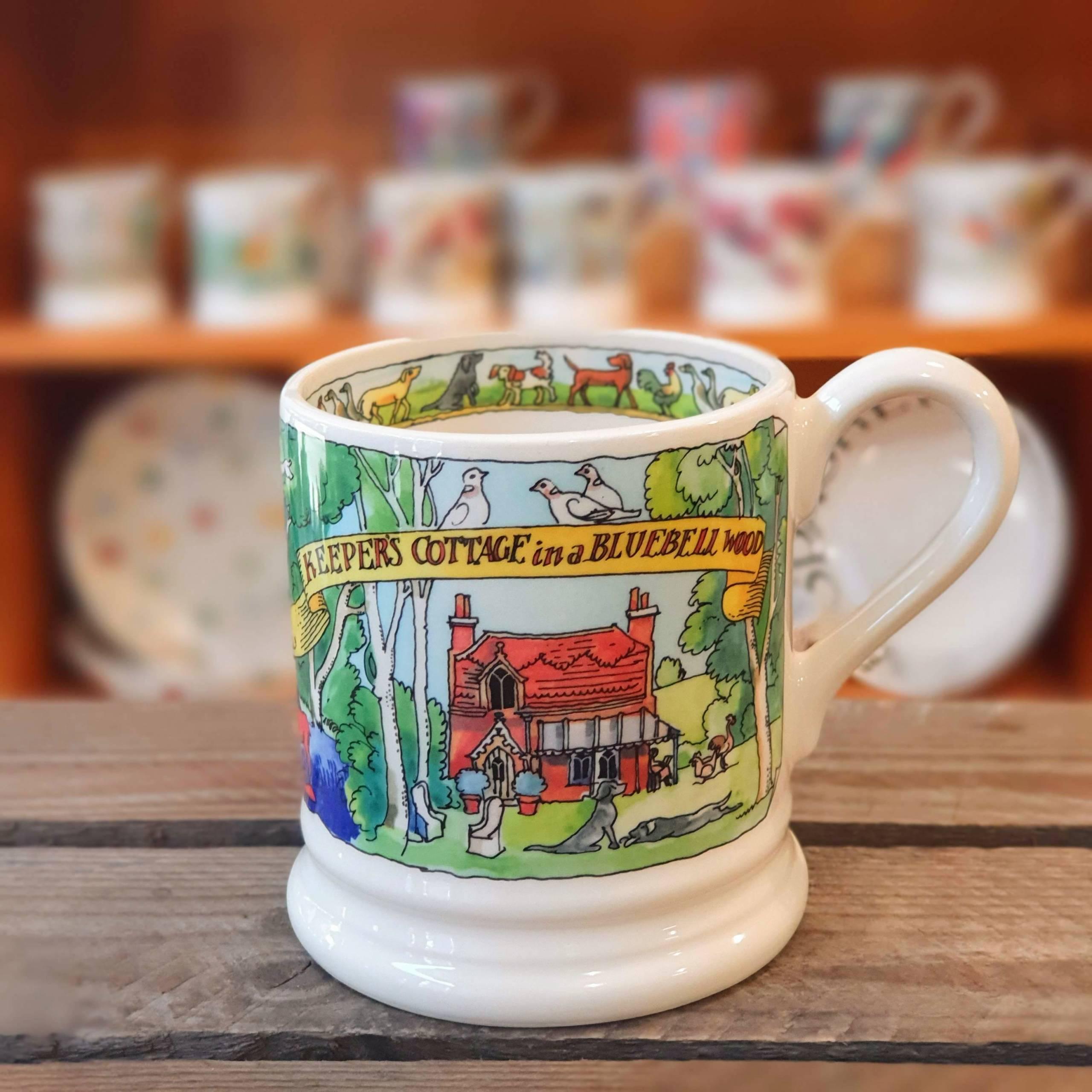 emma bridgewater keepers cottage mug