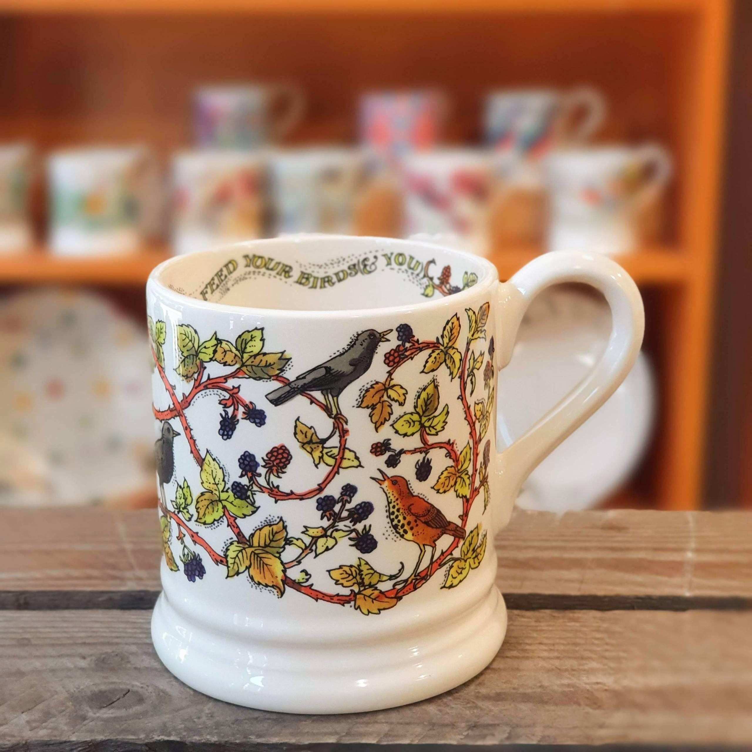 emma bridgewater bramble mug