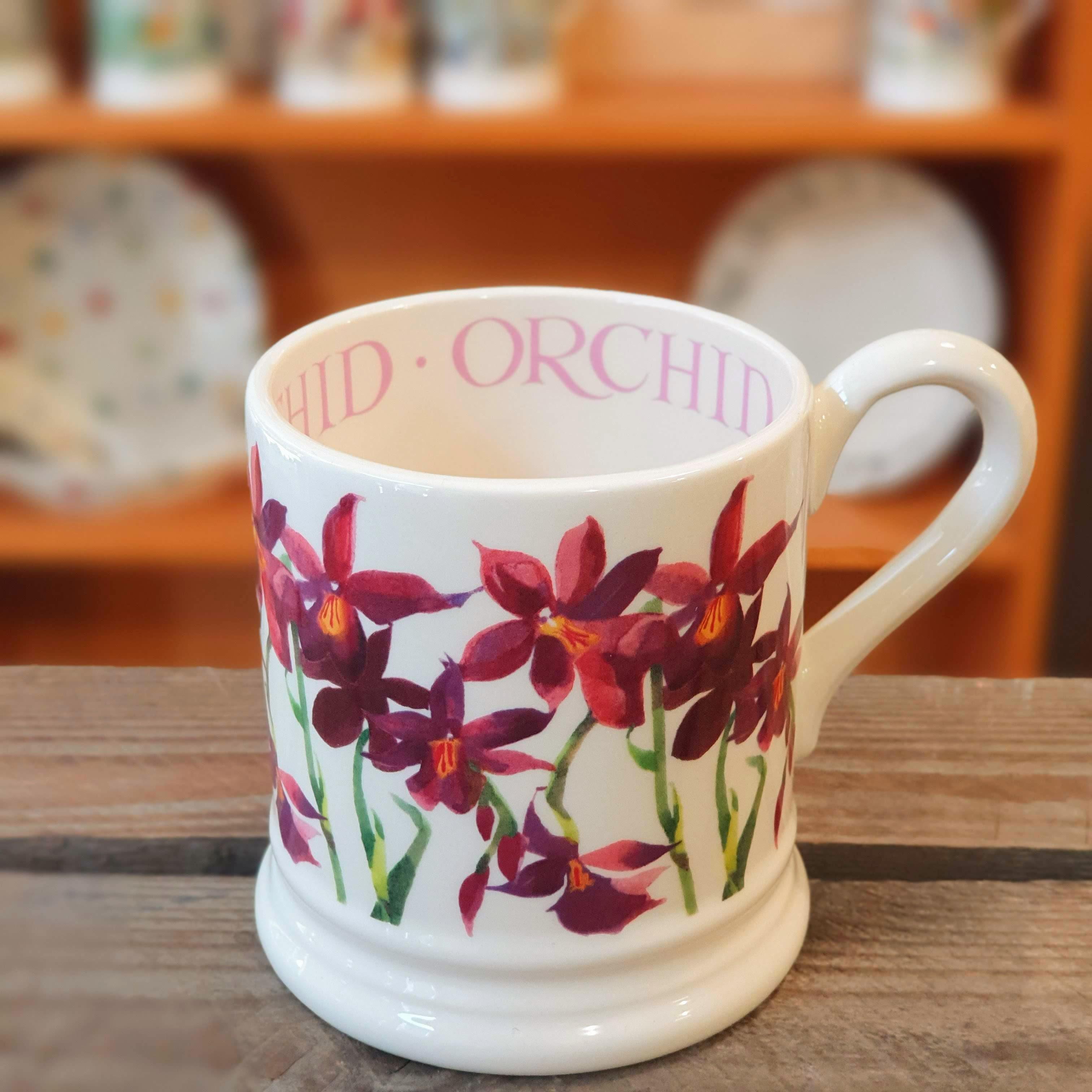 emma bridgewater orchid mug