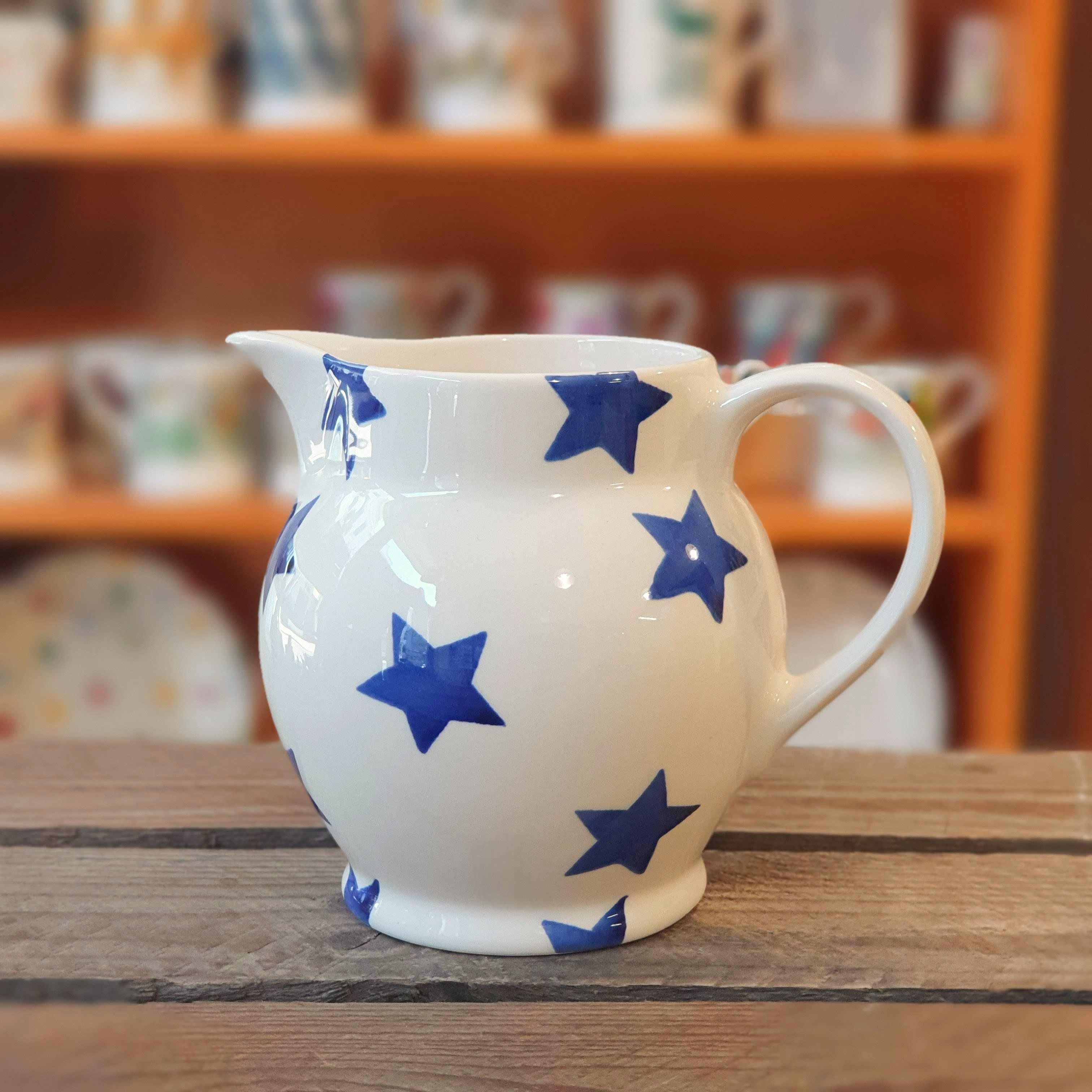 emma bridgewater blue stars mug