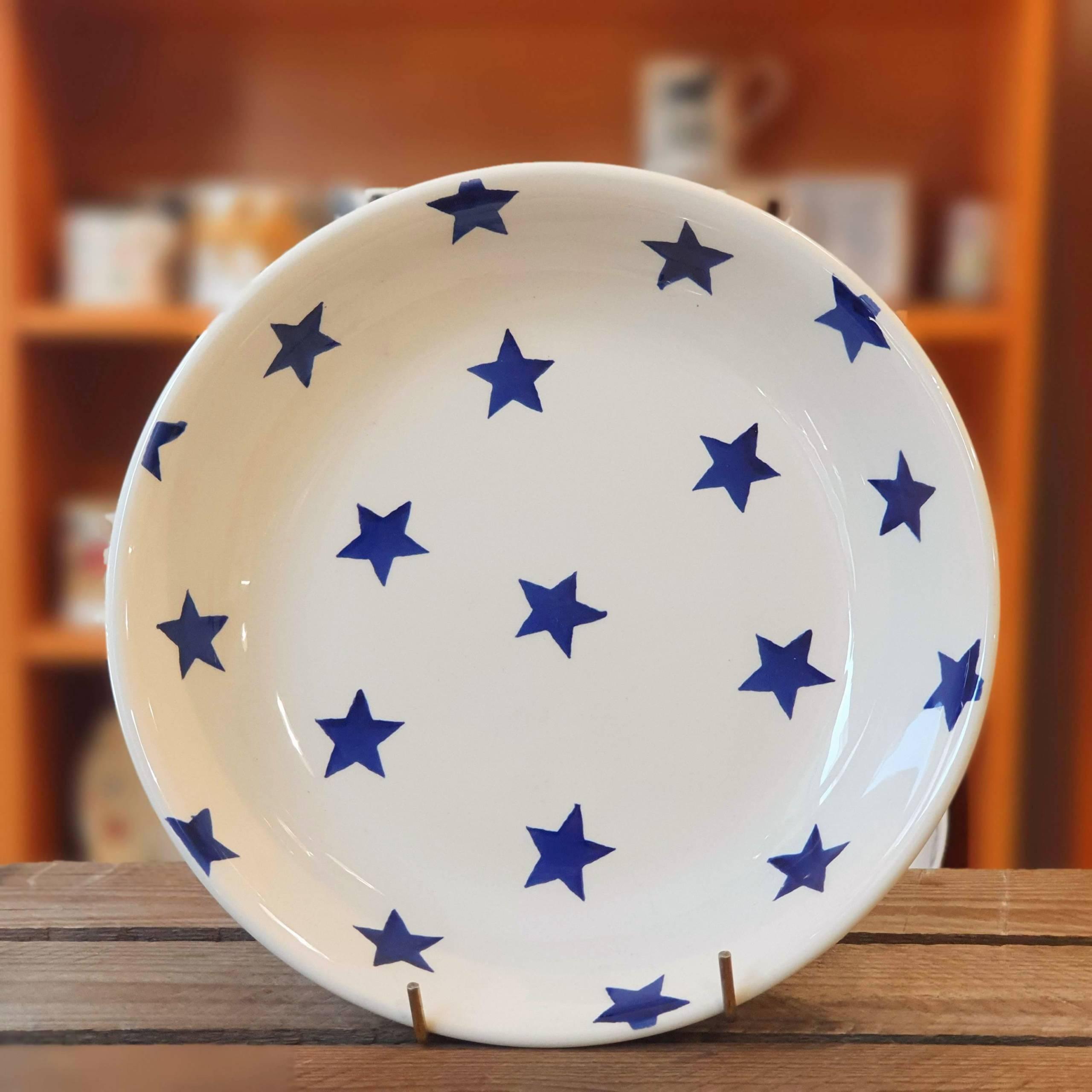 emma bridgewater blue star pasta bowl