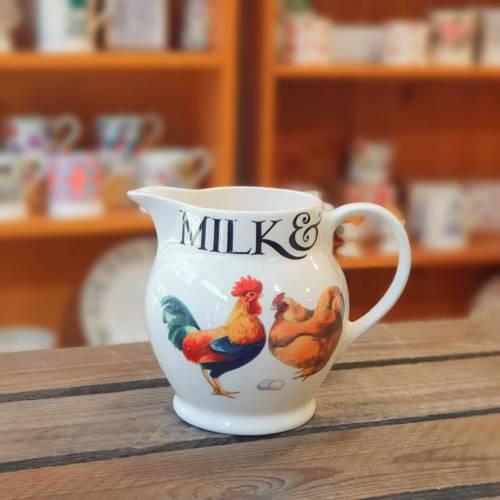 emma bridgewater milk & cream jug