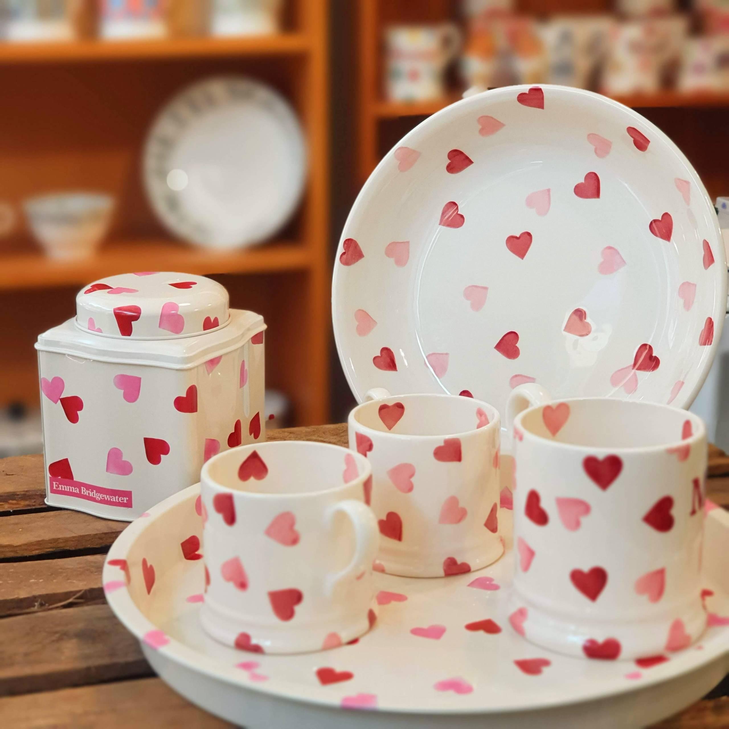 emma bridgewater pink hearts collection