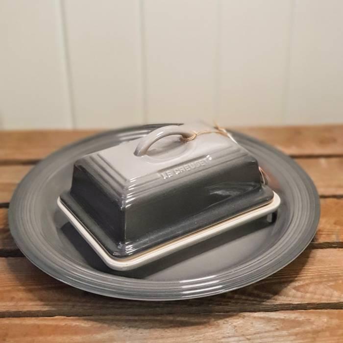 le creuset butter dish flint