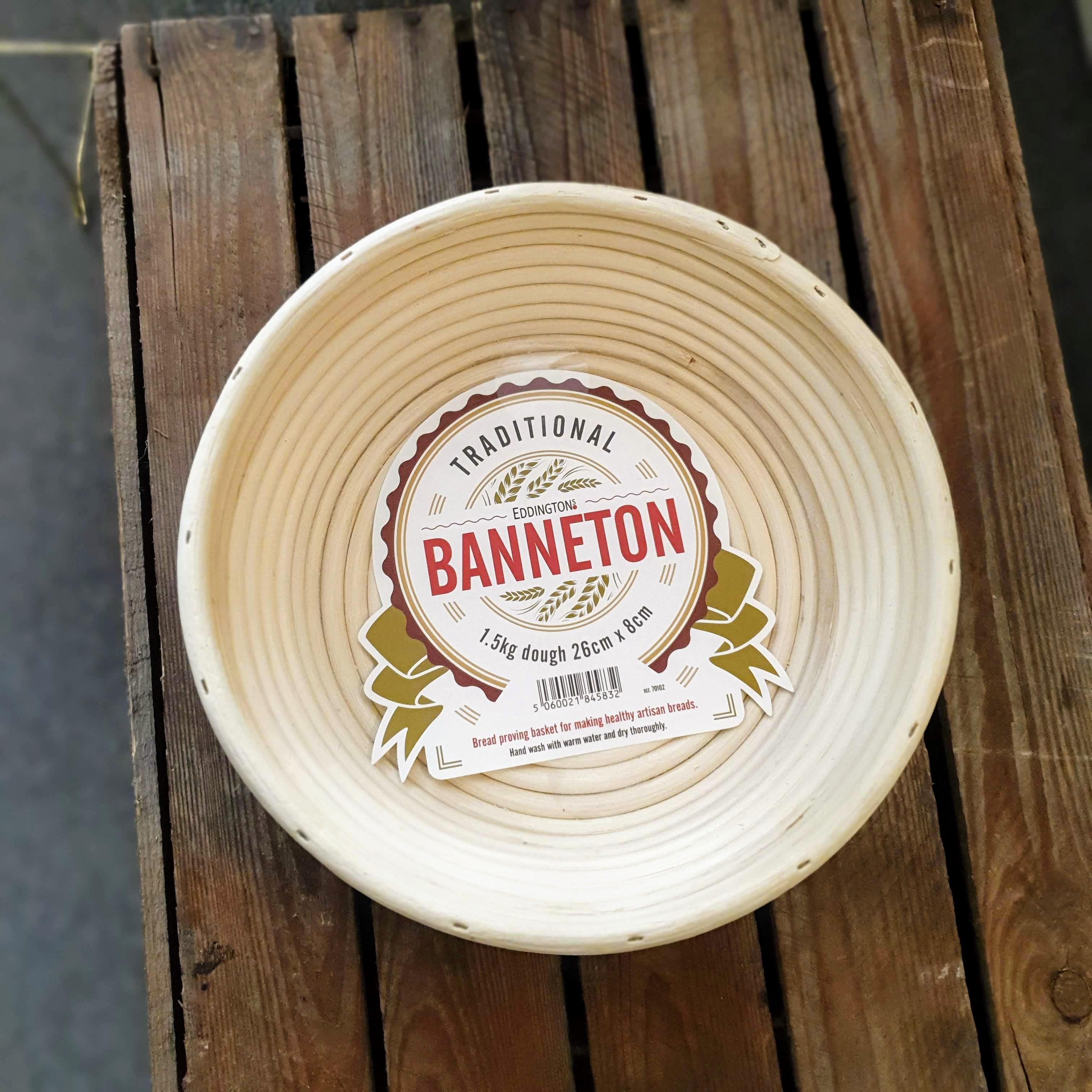 Angled Round Banneton - 26-8cm