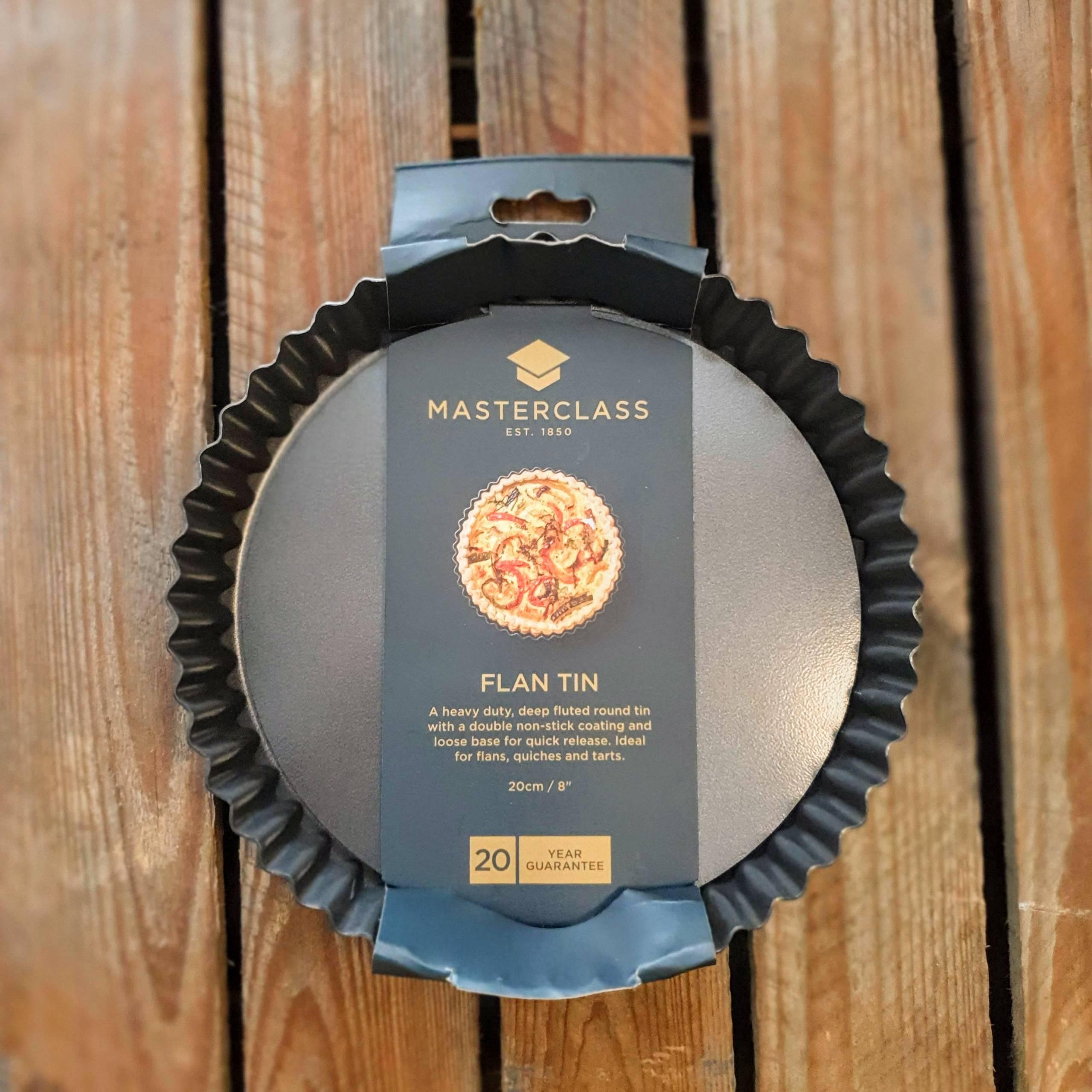 masterclass 8in flan tin