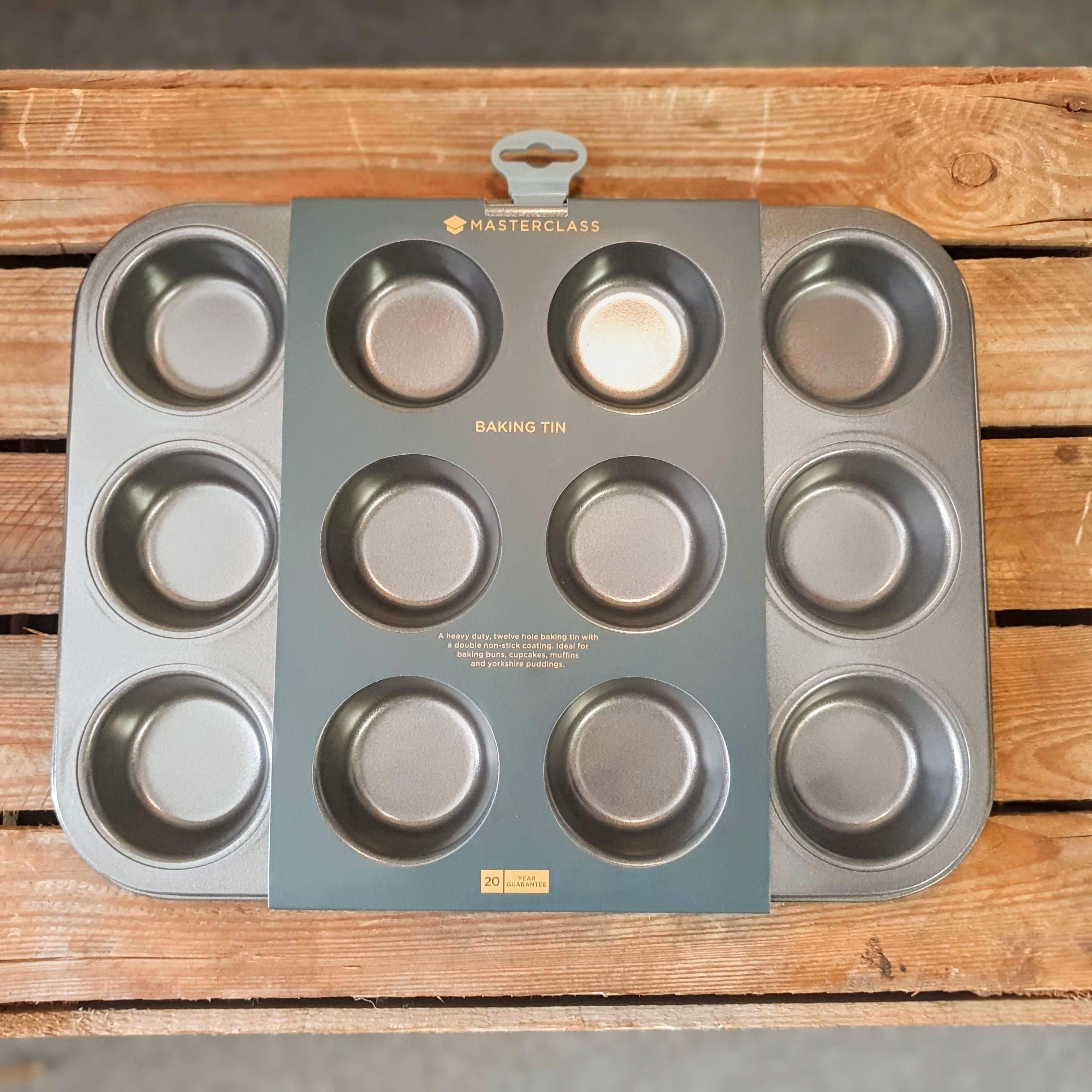 masterclass 12 hole baking tray
