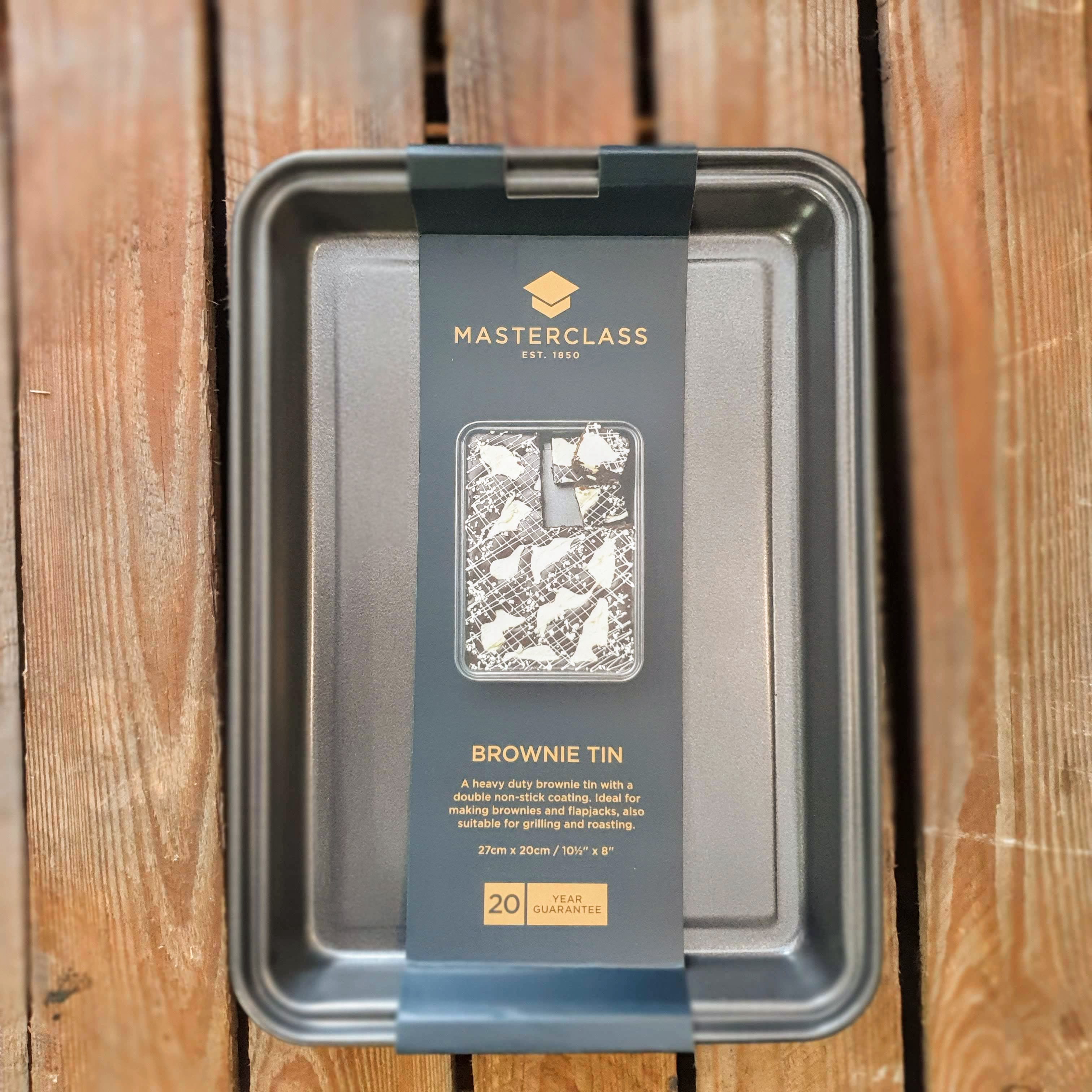 masterclass brownie tin 1