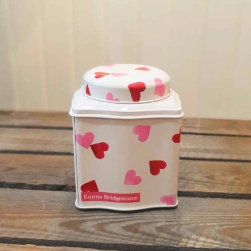 emma bridgewater pink hearts tin