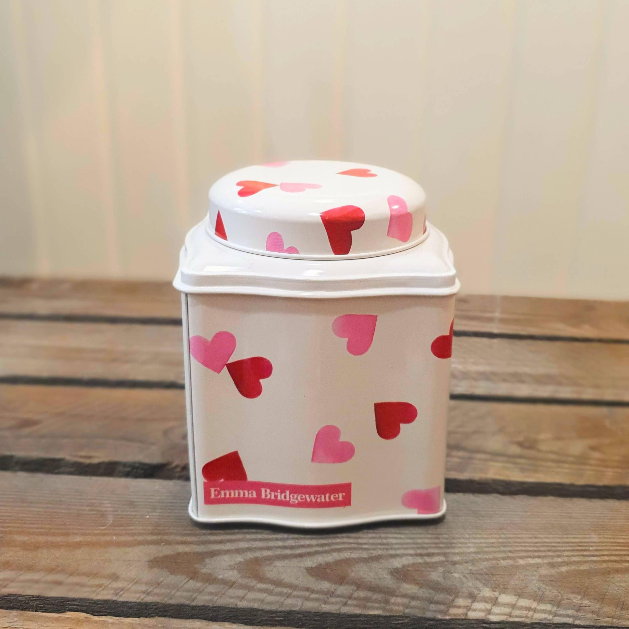 emma bridgewater pink hearts tin