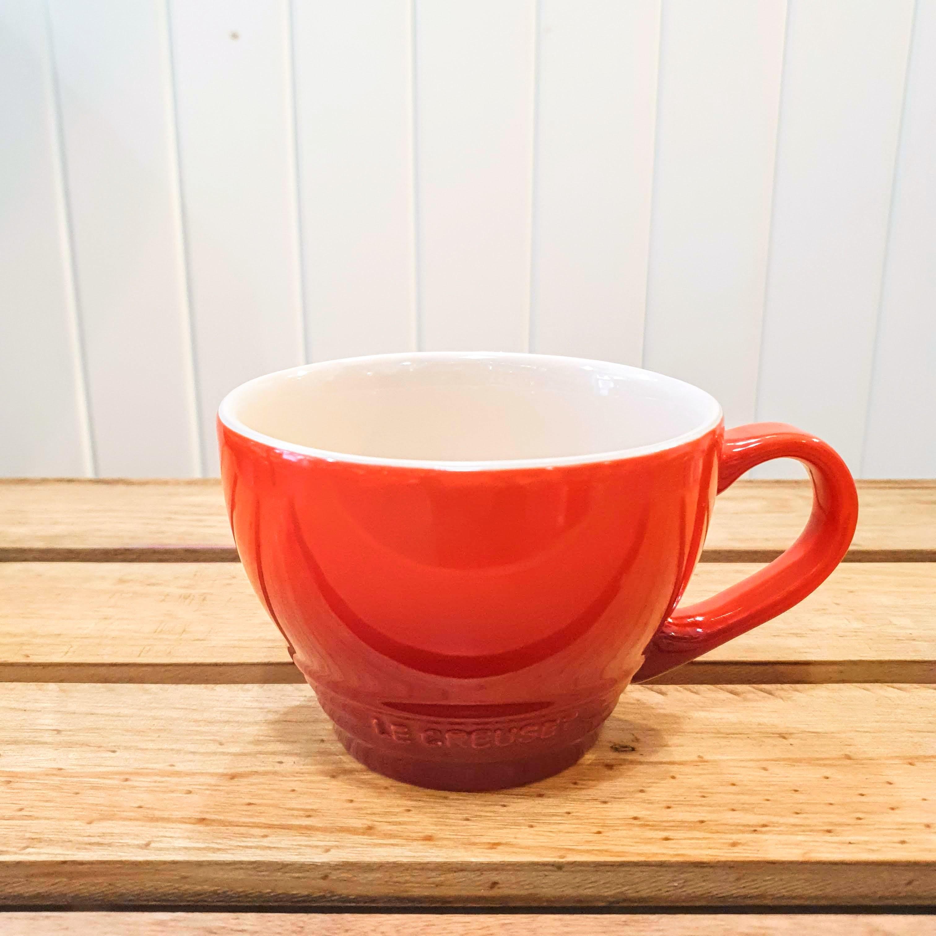 le creuset grand mug cerise single