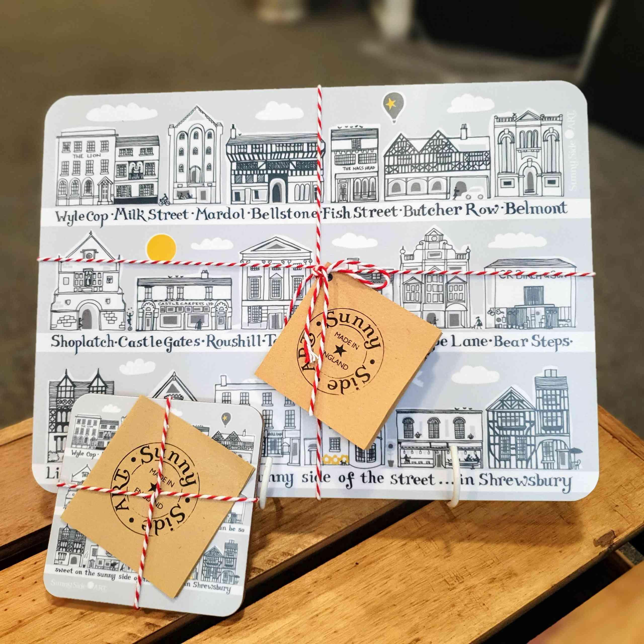 Shrewsbury placemats & coasters