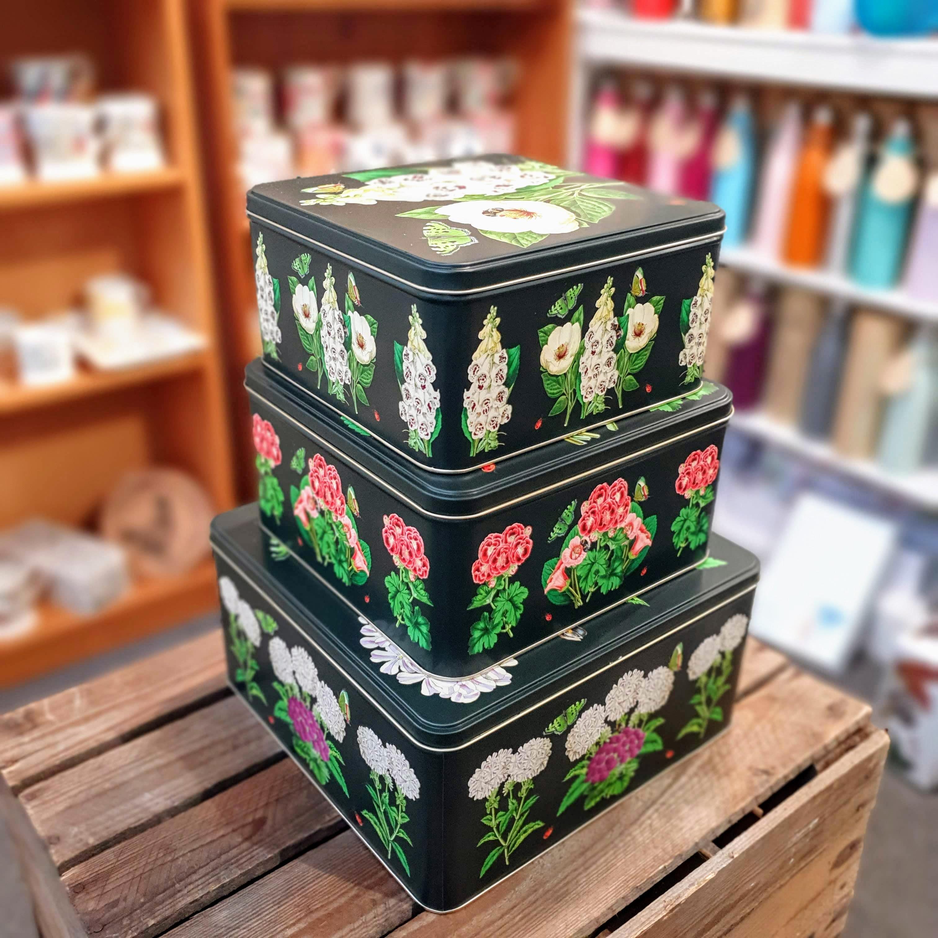 madame treacle set of tins
