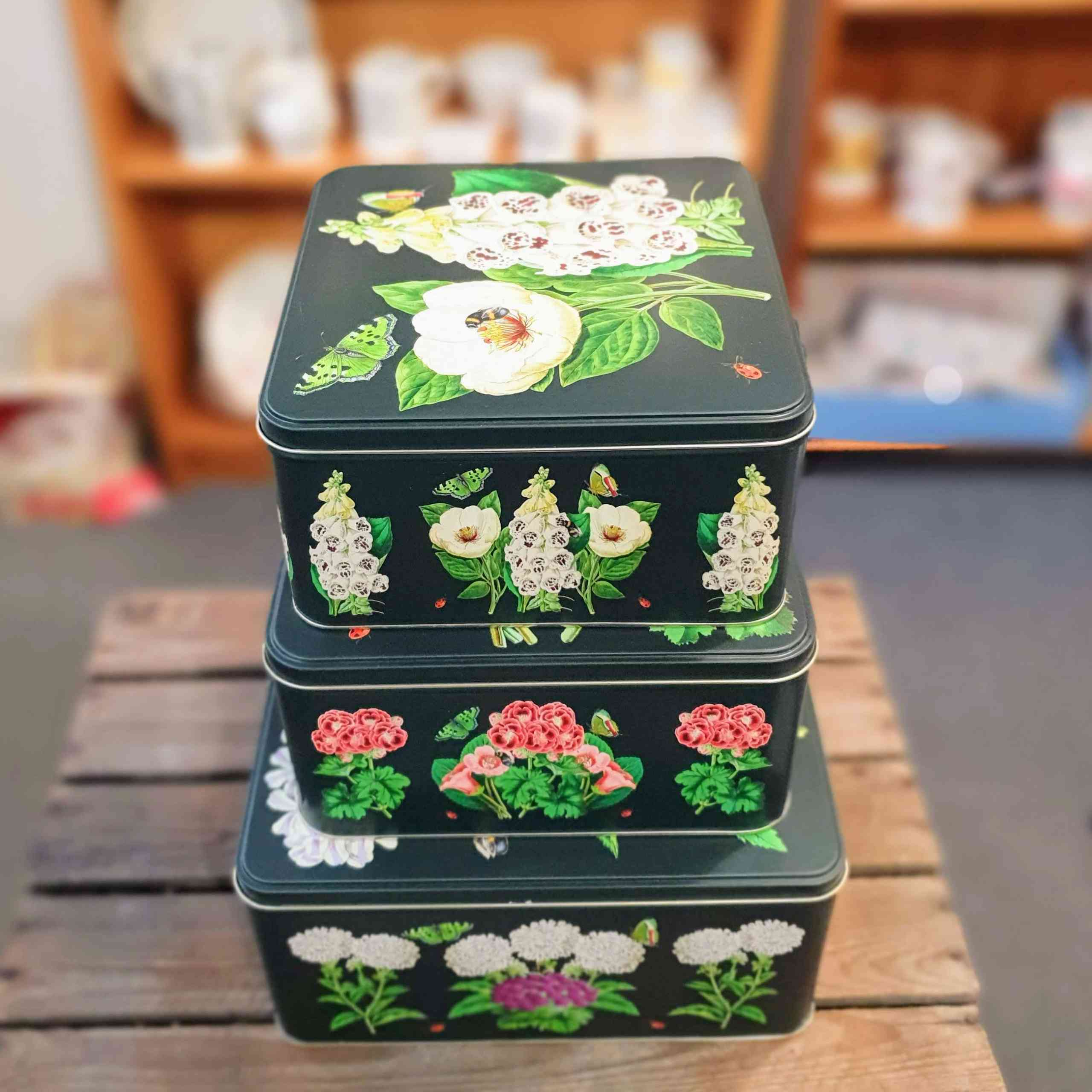 madame treacle set of tins
