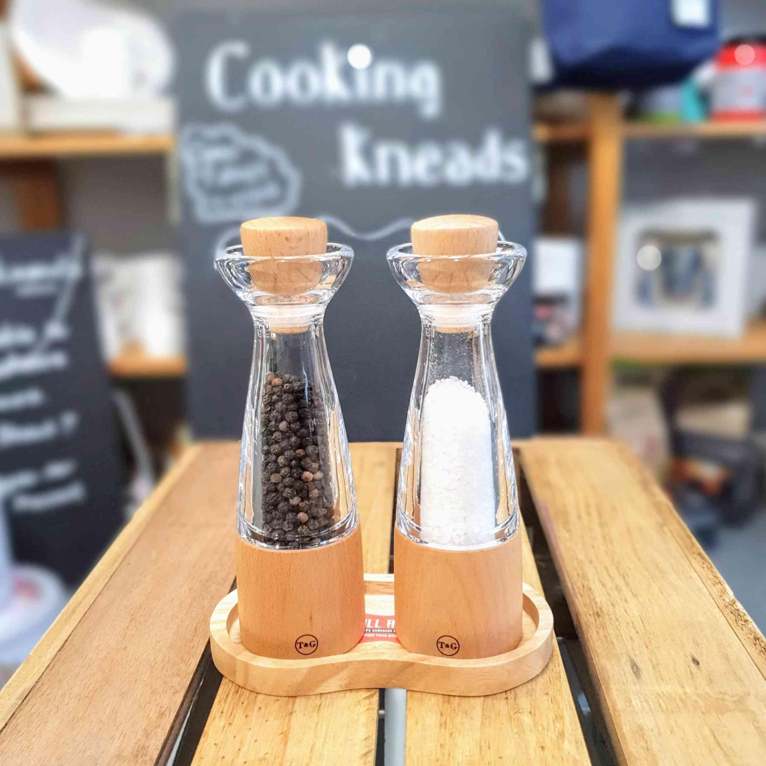 T G Crushgrind Salt Pepper Spice Stockholm Mill Cooking Kneads
