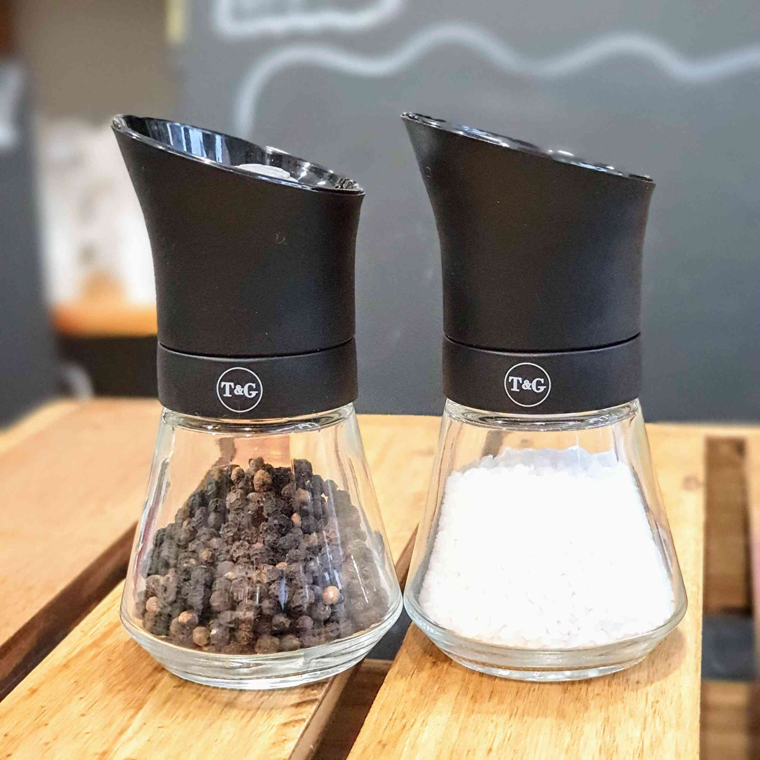 T&G Salt and Pepper Mill Black Matte