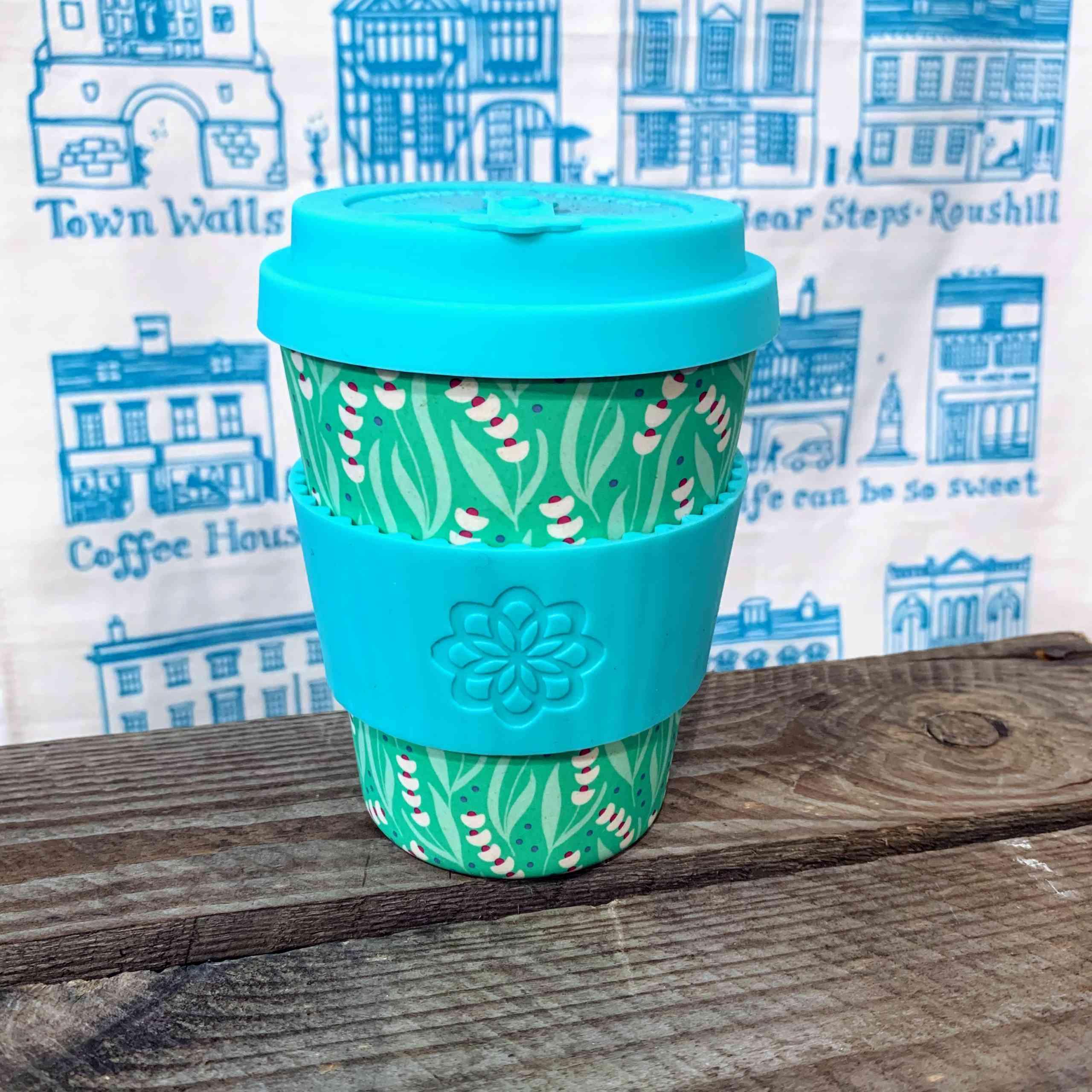 E Coffee Cup - Blue