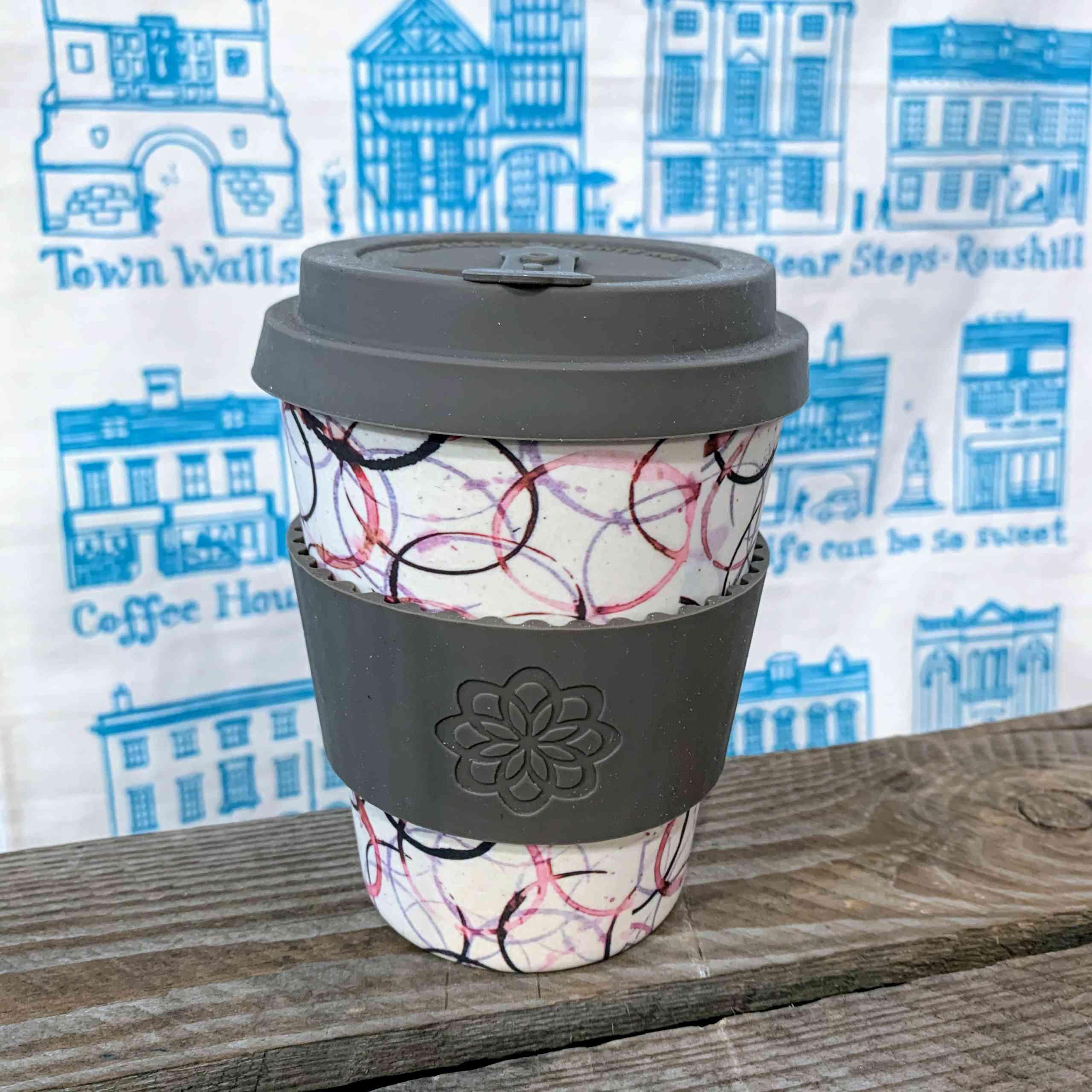 E Coffee Cup - Grey