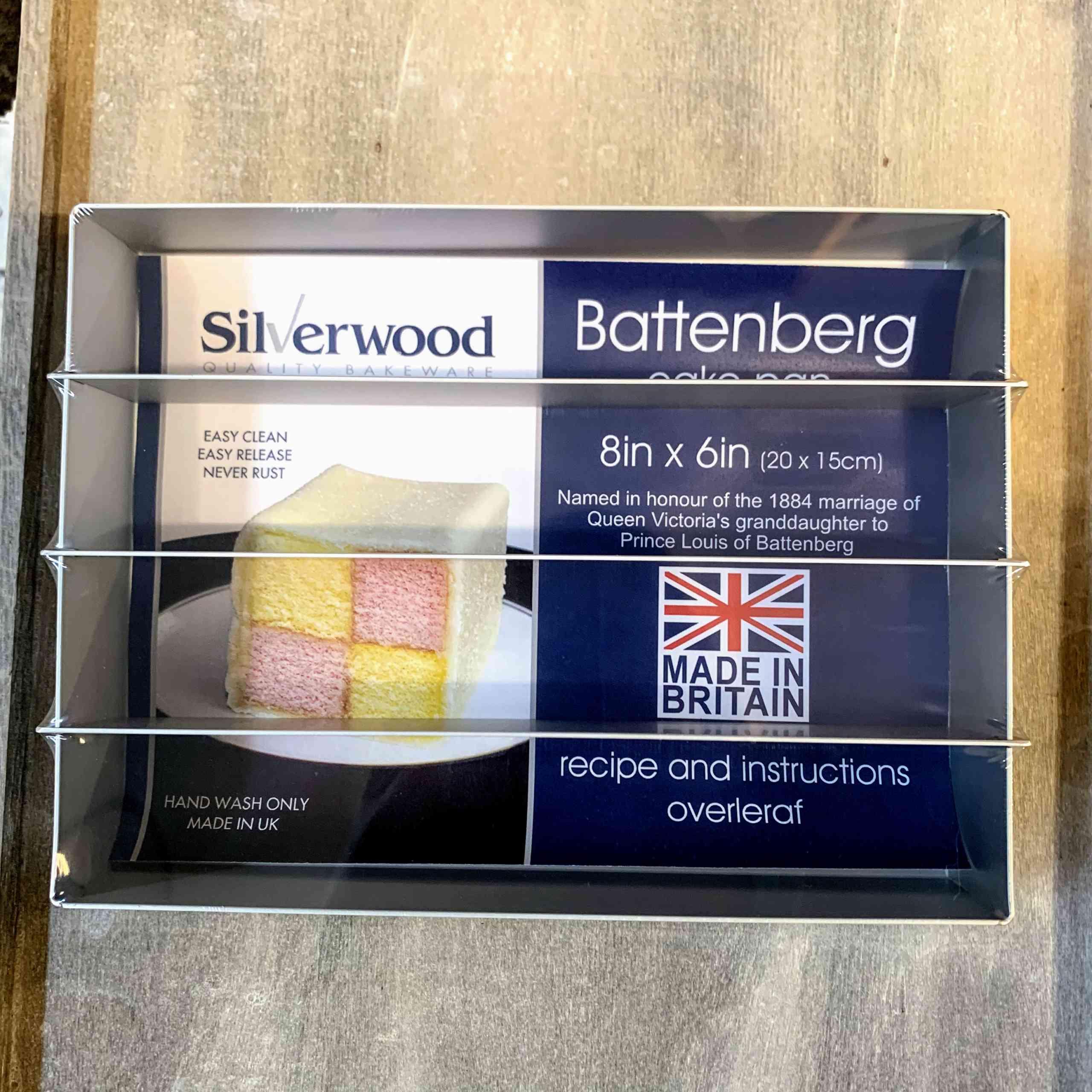 Silverwood Battenberg Pan