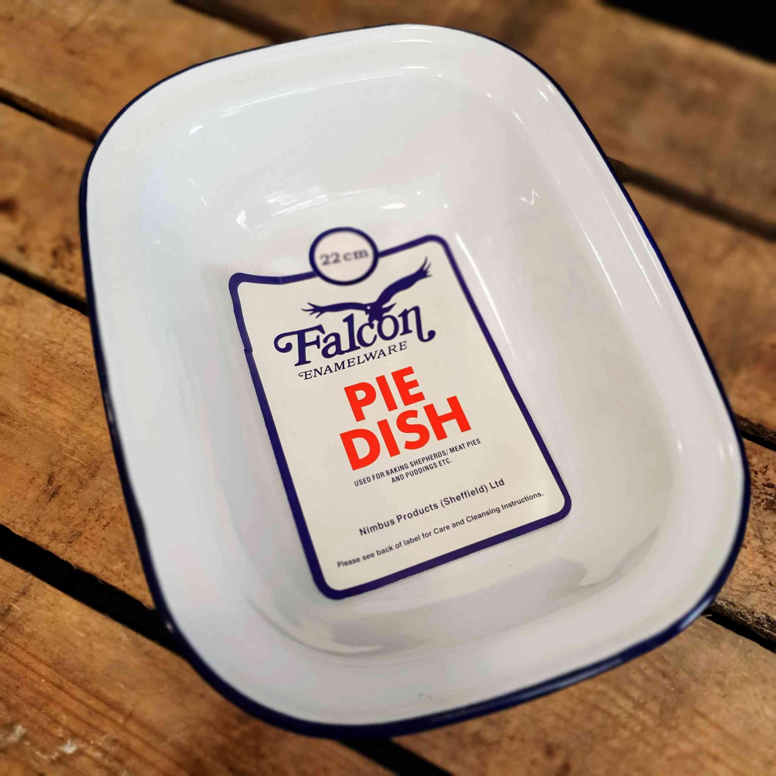 pie dish oblong 20cm
