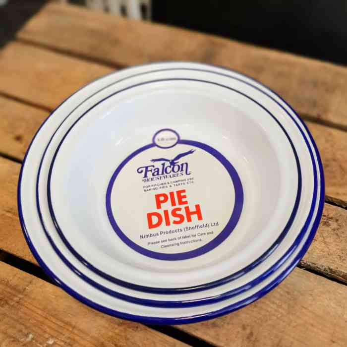 pie dish round multi