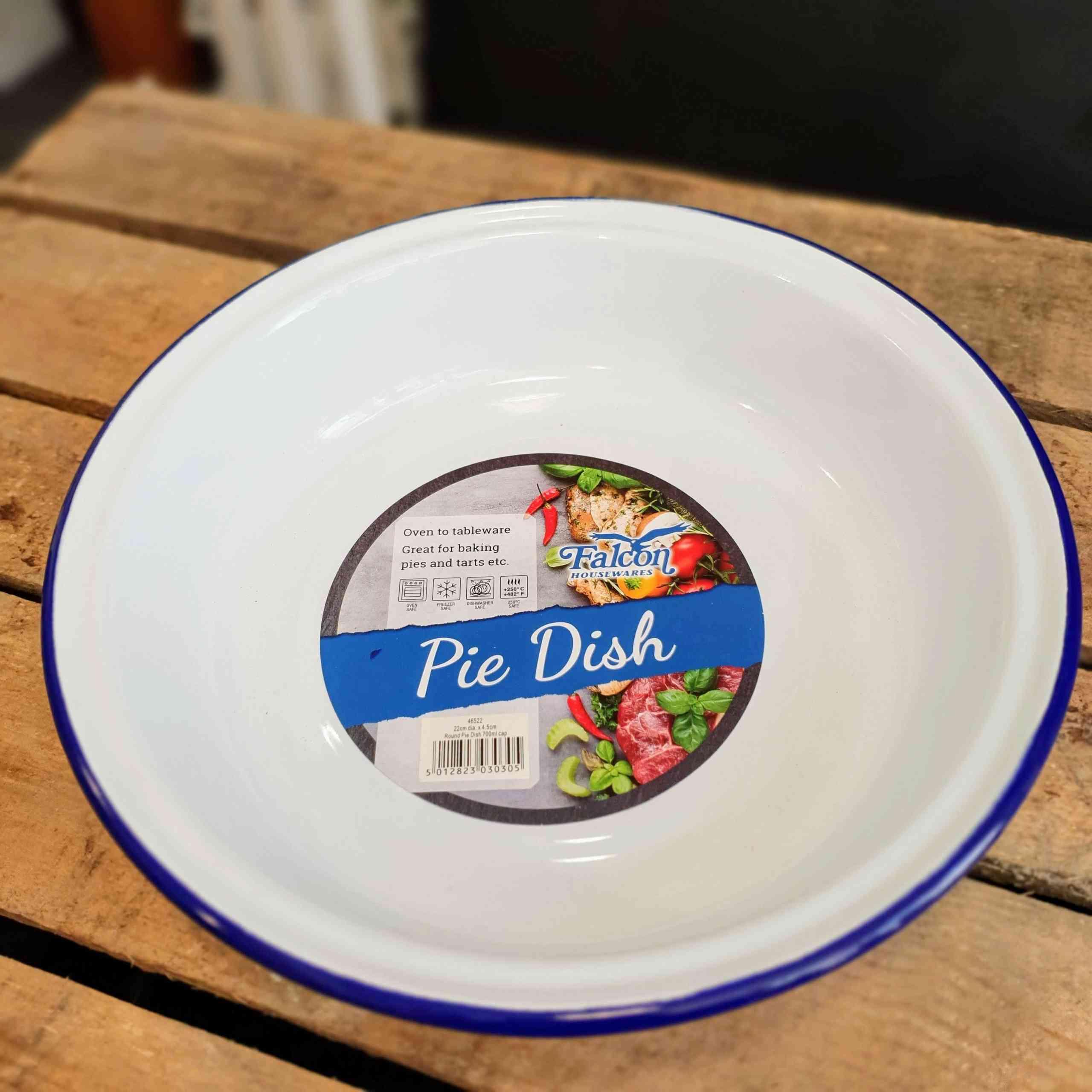 pie dish round 22cm