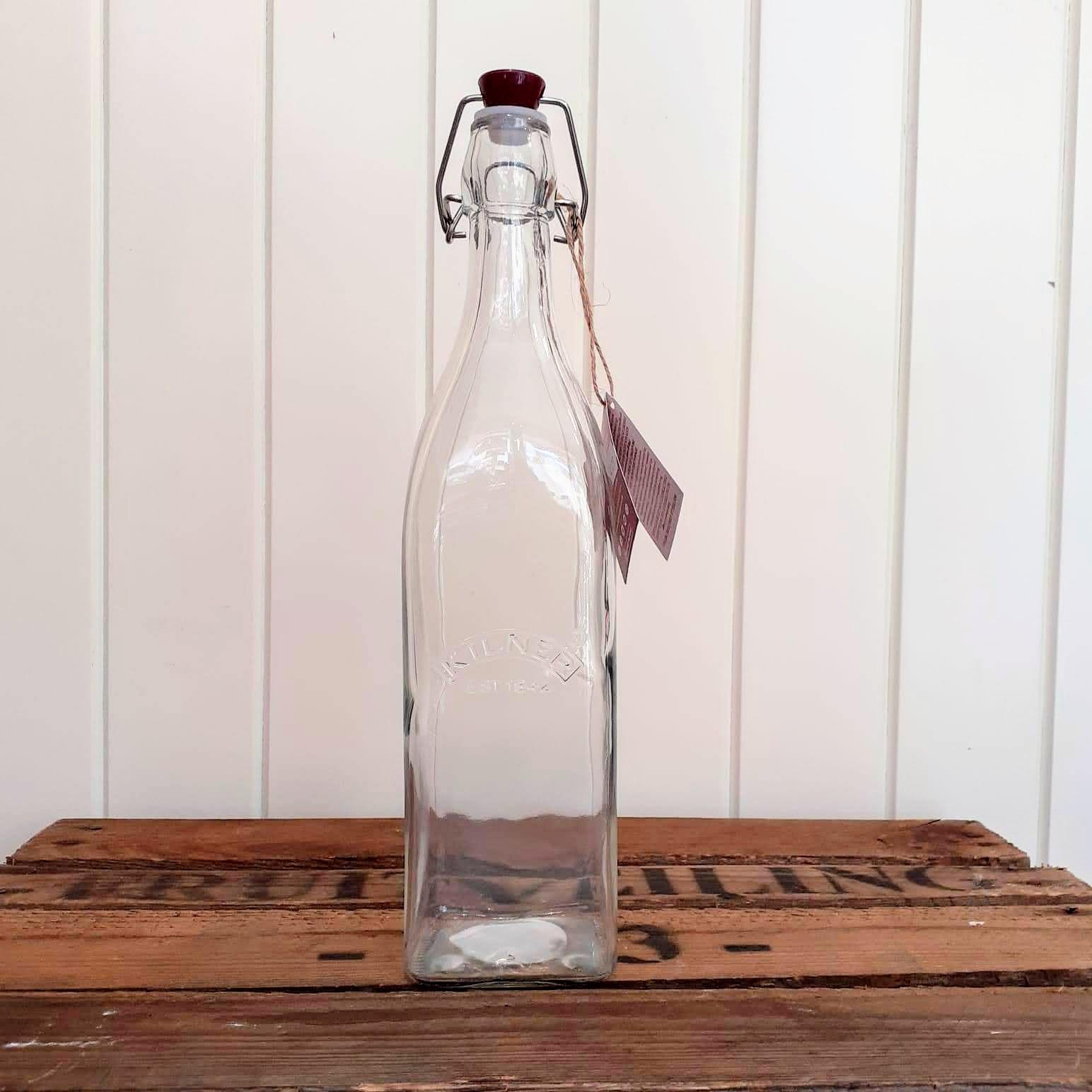 Kilner glass bottle - 1litre