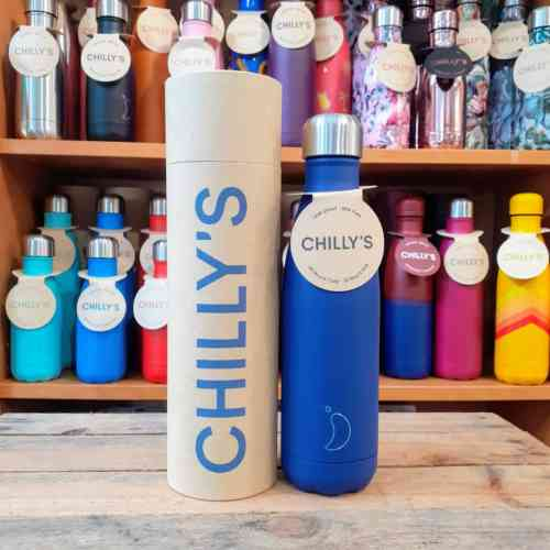 Matte Blue Chilly Bottle