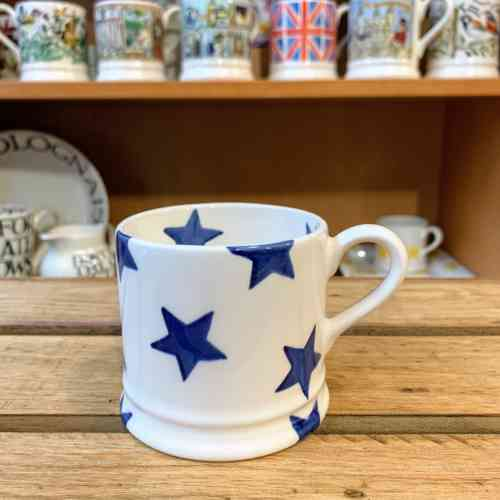 Emma Bridgewater Small Blue Star Mug